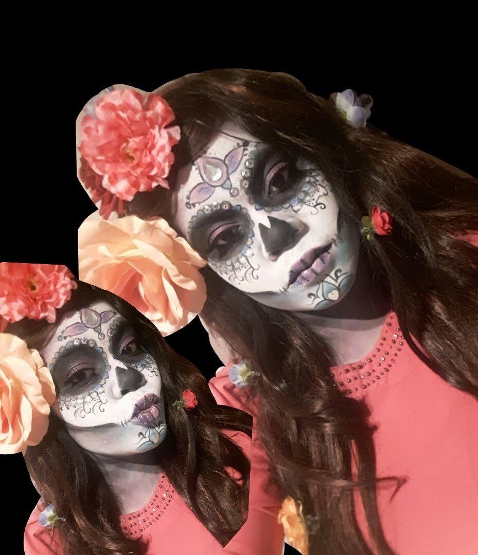10 Best Dia De Los Muertos Costume Ideas sugar skull tutorial carnaval halloween and el dia de los muertos 1 2020
