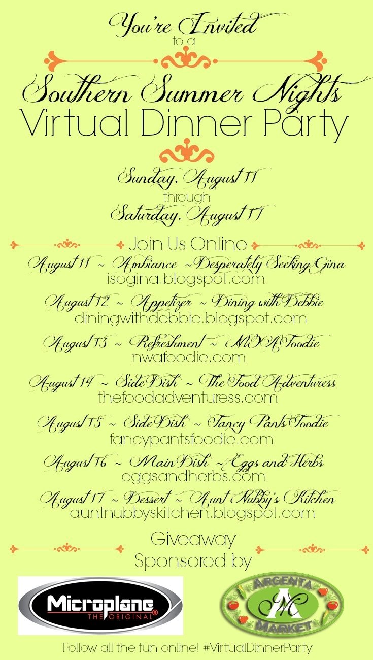 10 Stylish Summer Dinner Party Menu Ideas sugar spice and spilled milk southern summer nights 1 2021