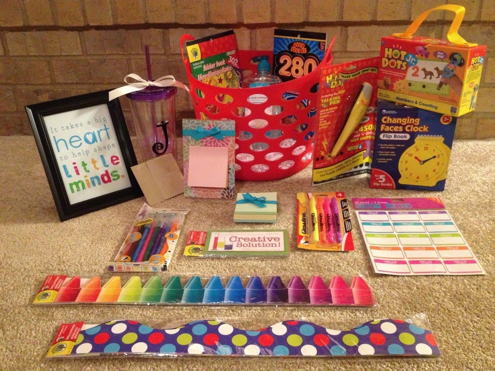 10 Great Gift Basket Ideas For Teachers sugar spice diy teacher gift basket