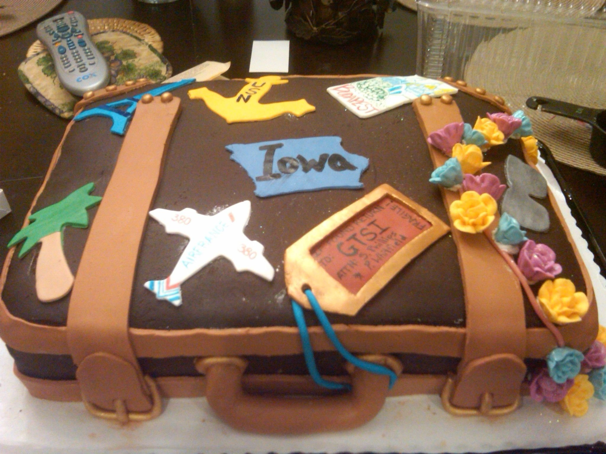 10 Best Going Away Party Ideas Work suitcase cake i made for a going away party at work today all of