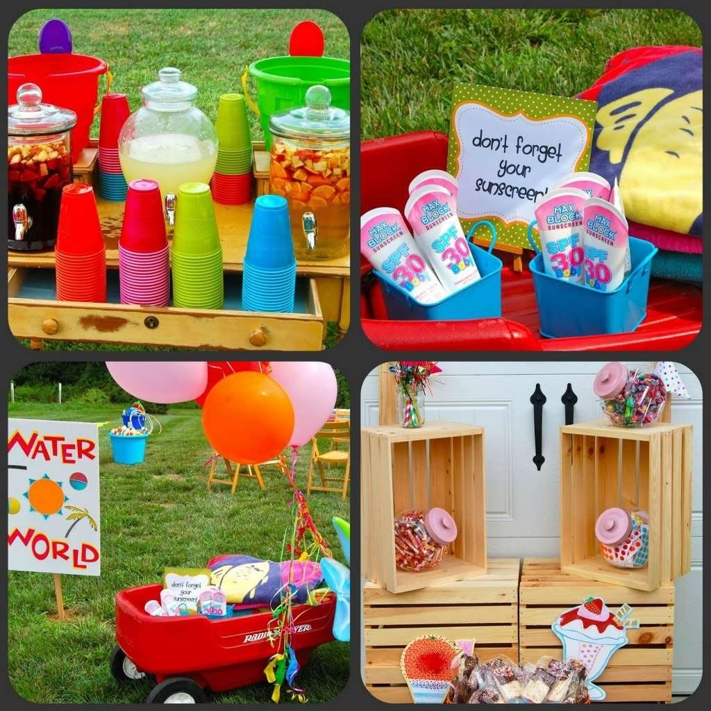 10 Nice Summer Party Ideas For Kids summer birthday party ideas for boys summer birthday party themes 2020