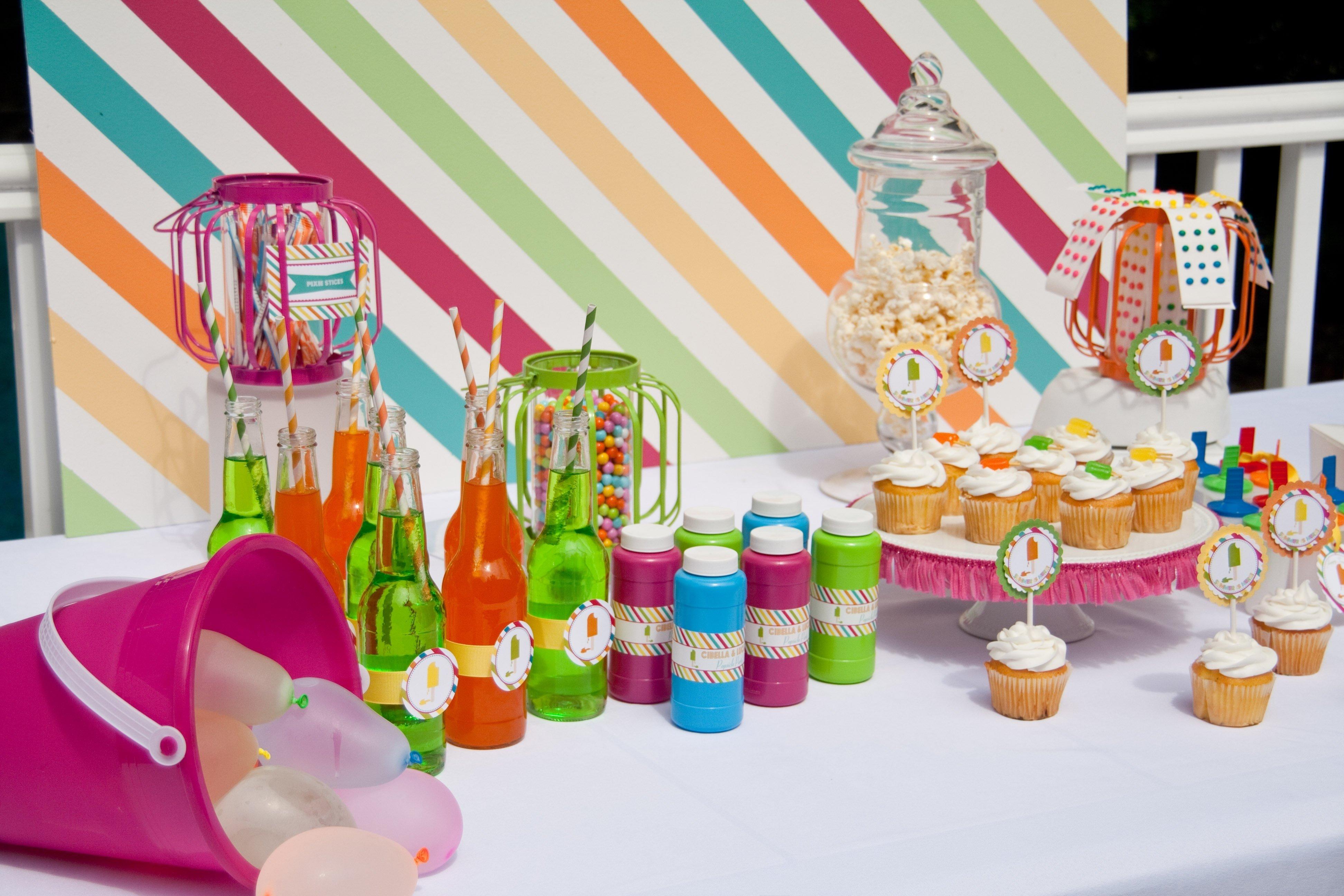 10 Most Recommended Summer Birthday Party Ideas For Toddlers