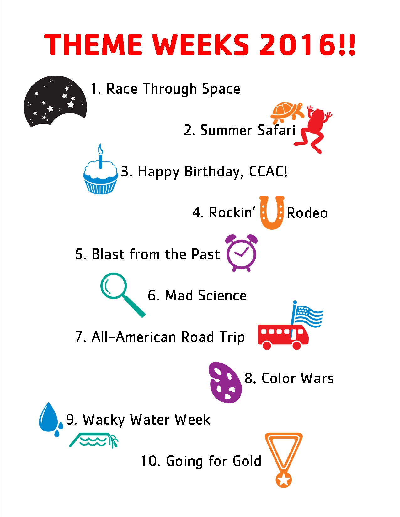 10 Best Summer Camp Weekly Theme Ideas summer camp themes google search summerkids ideas pinterest 1 2021