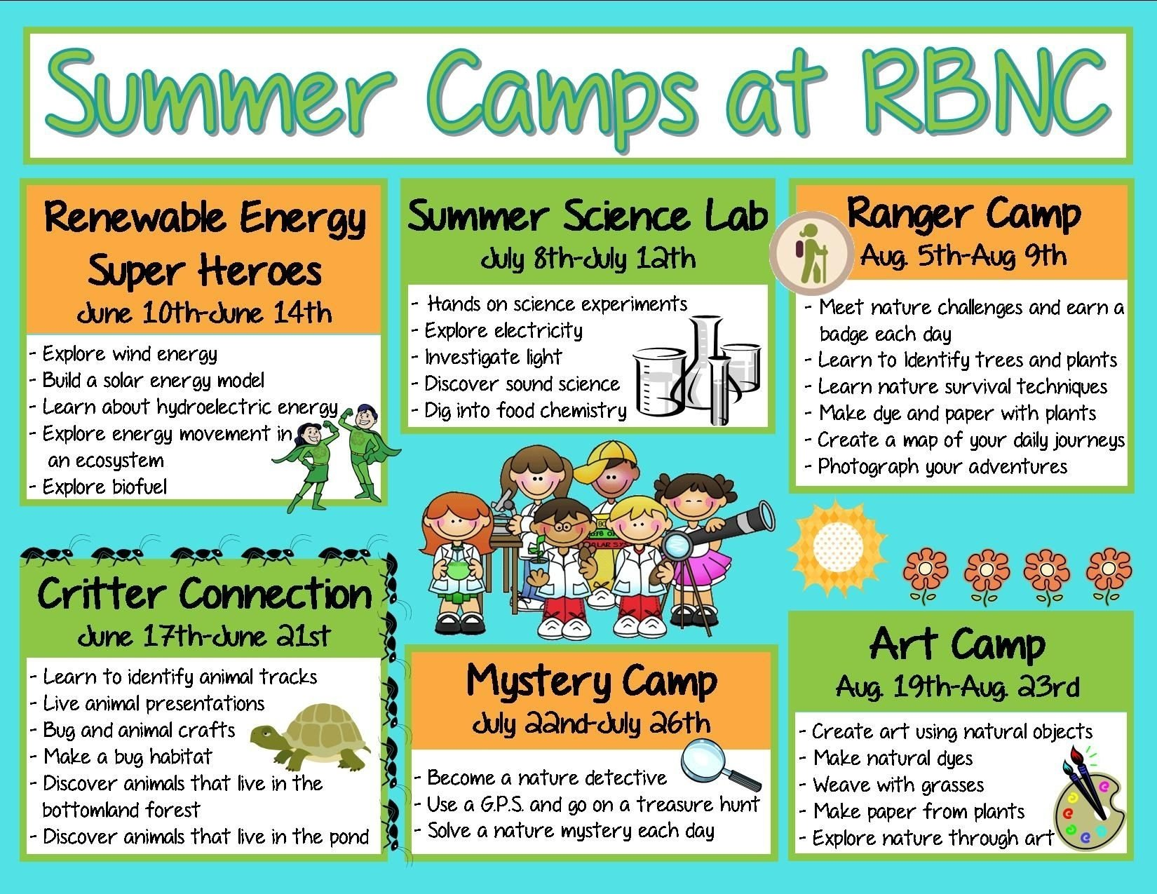10 Cute Summer Camp Ideas For Kids summer camp themes summer camps for everyone at river bend kauz 1
