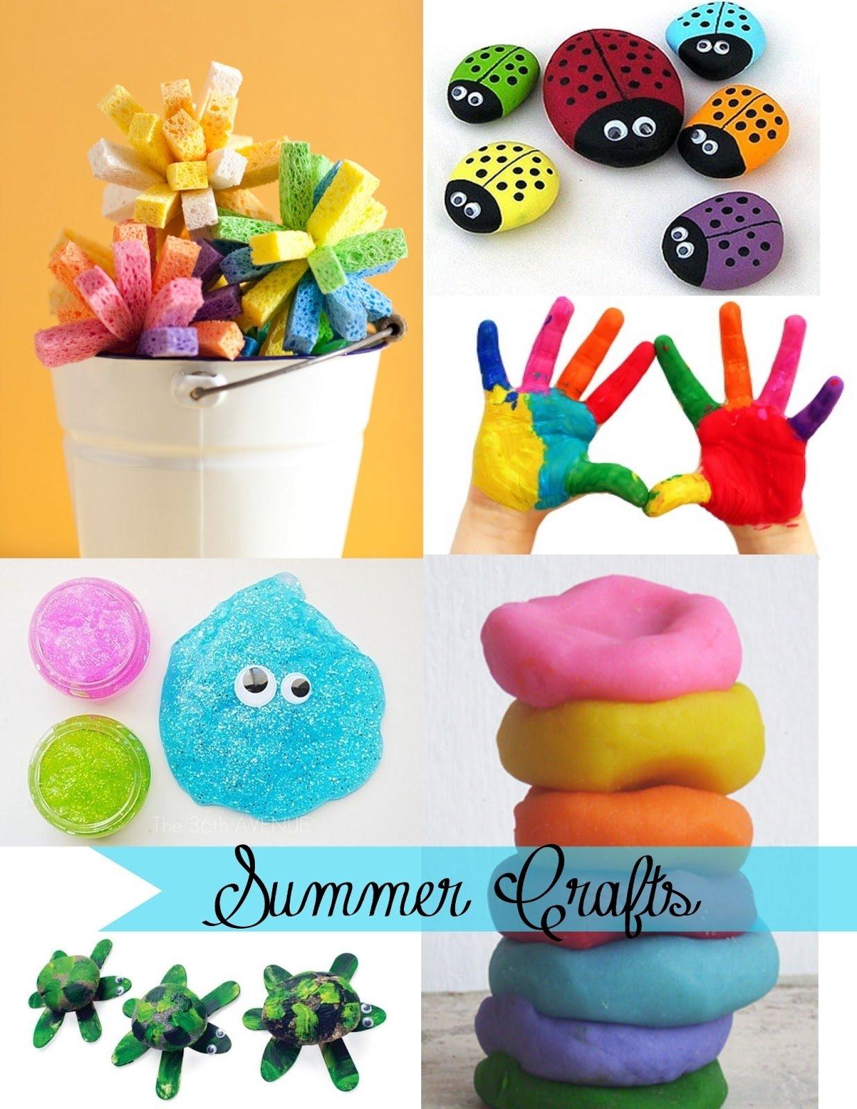 summer crafts children | ye craft ideas