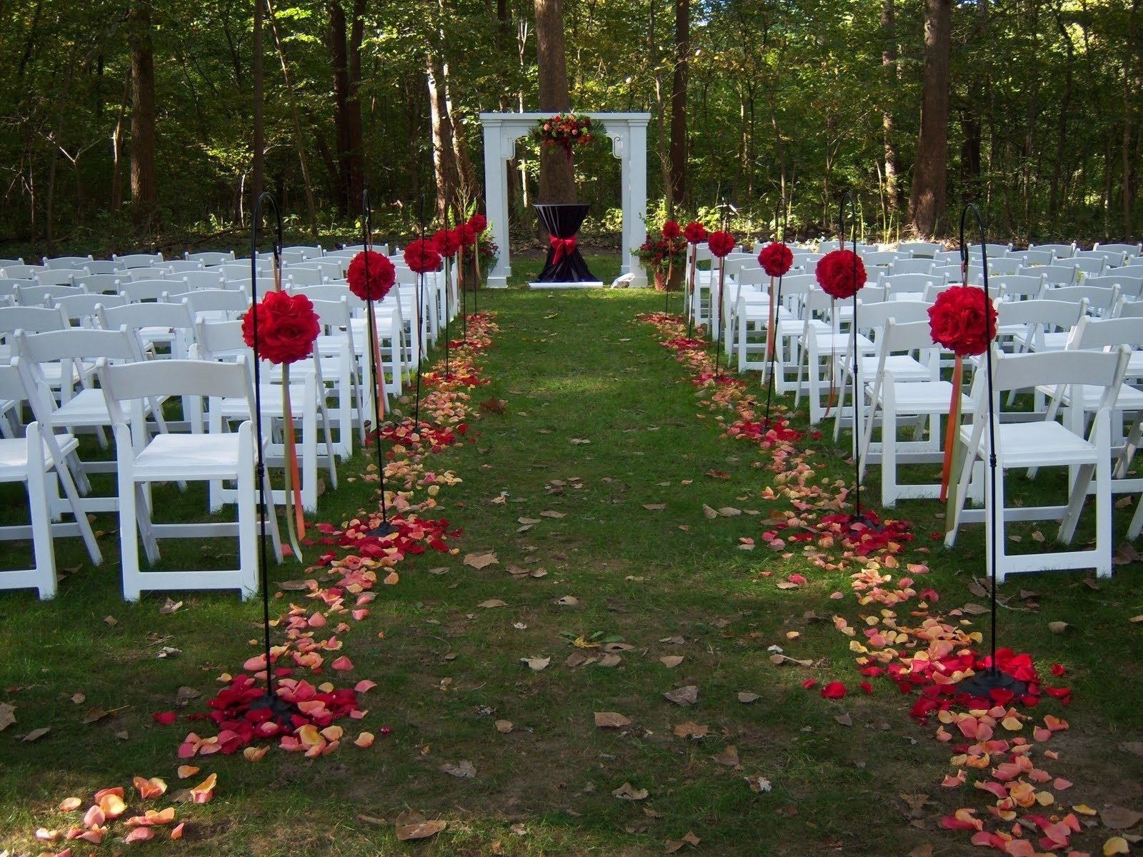 summer outdoor wedding ideas - design on vine