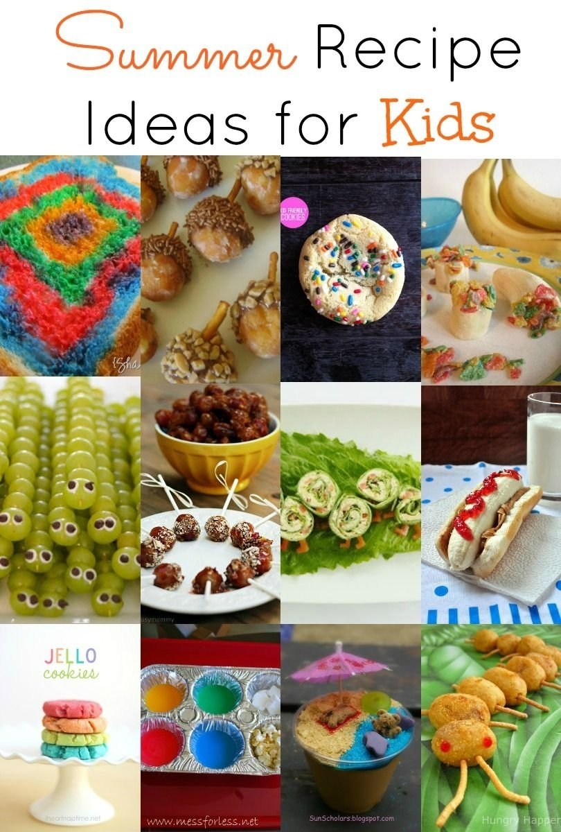 summer #recipe ideas for #kids! keep the kids entertained for hours