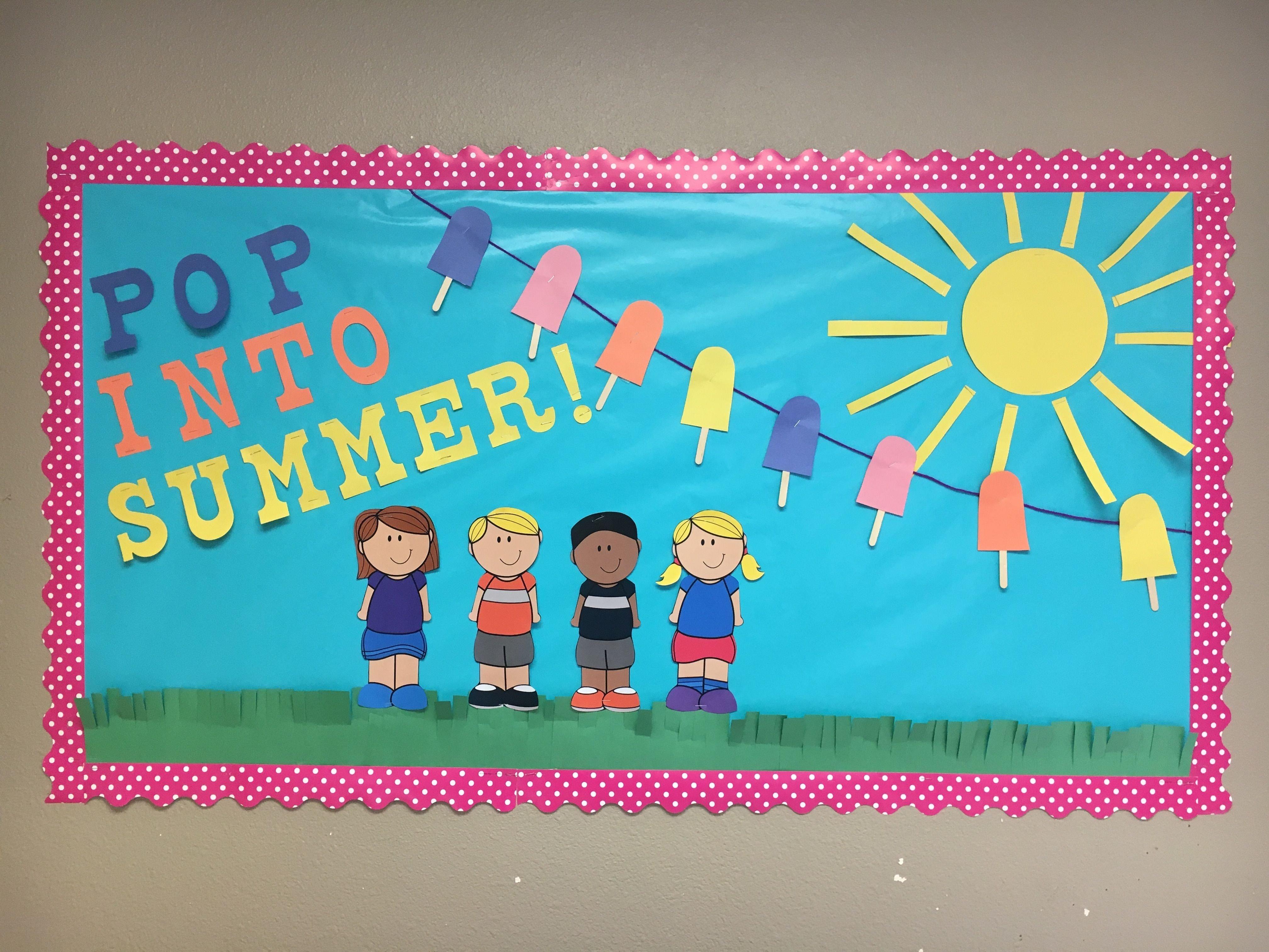 10 Stunning Bulletin Board Ideas For Summer summer school bulletin board classroom infant classroom 2021
