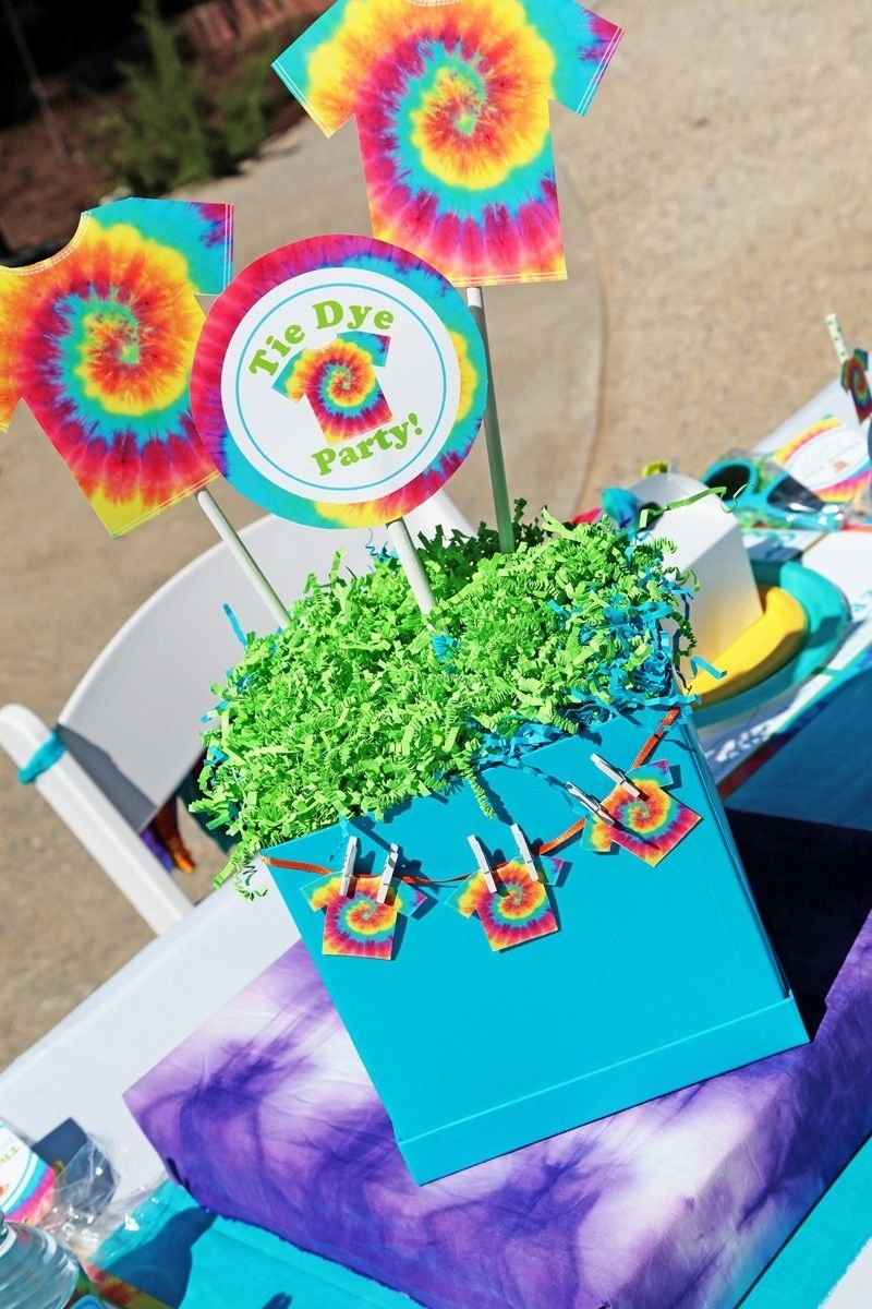 10 Most Recommended Tie Dye Birthday Party Ideas summer tie dye party tulip tie dye tie dye party diy 2020