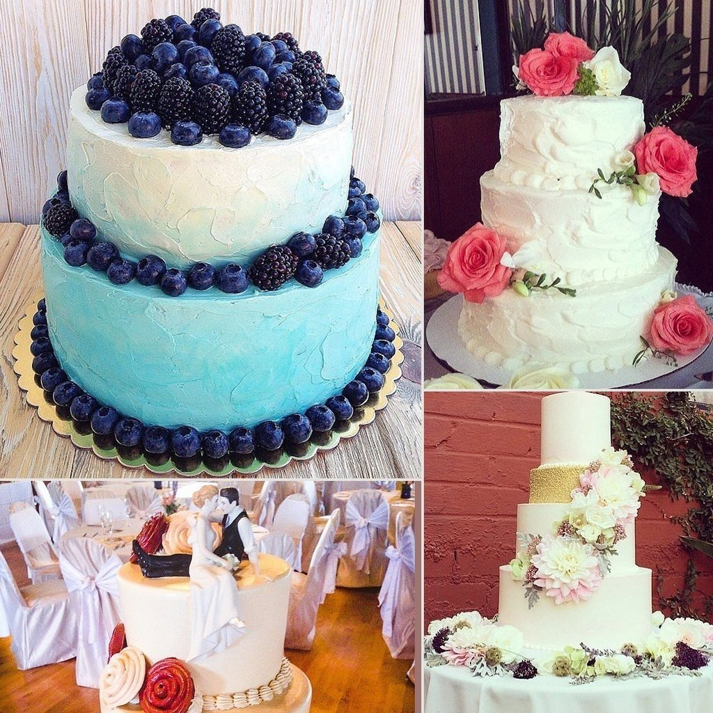 summer wedding cake ideas | popsugar food