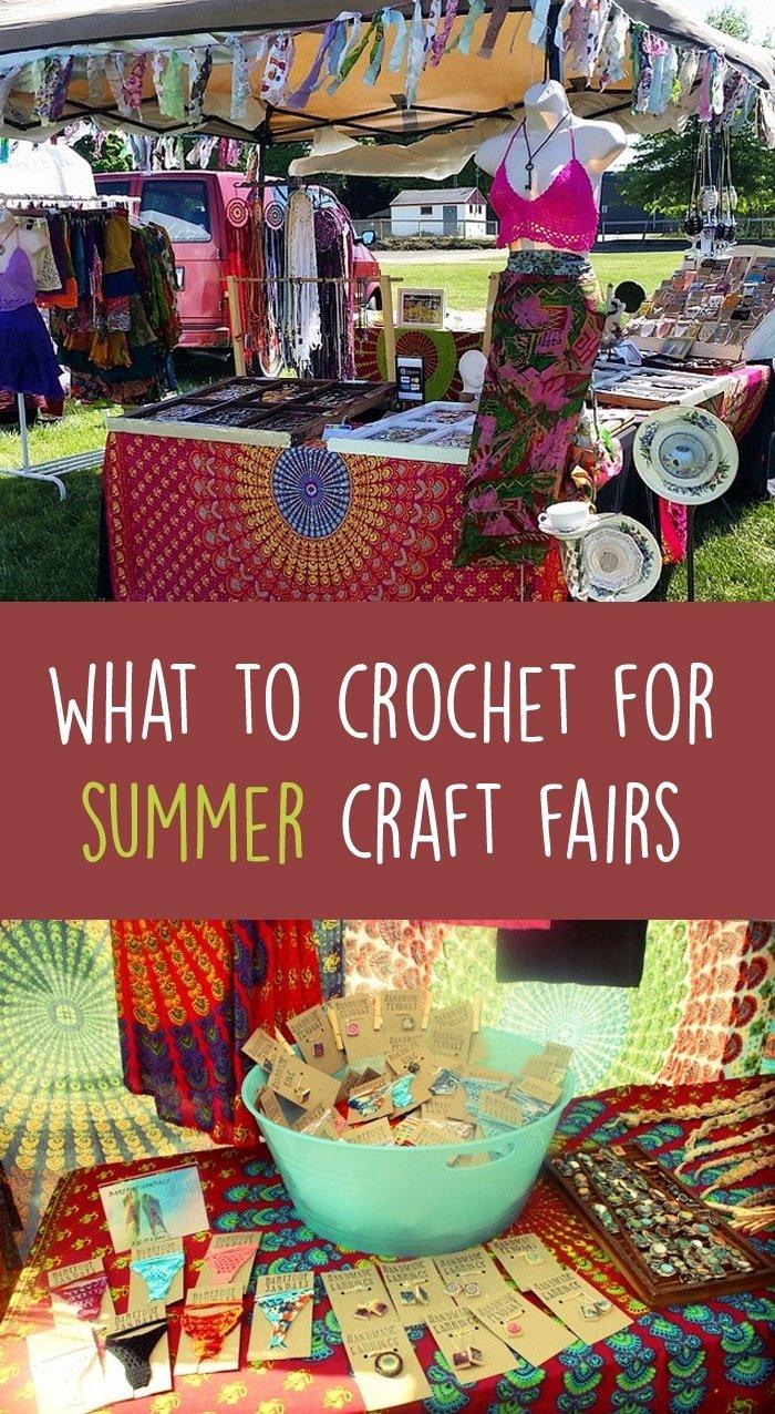 10 Great Craft Fair Ideas To Sell summercraftfair1 2020