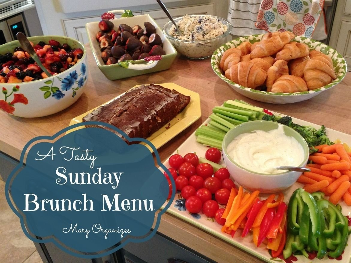 10 Fabulous Meal Ideas For A Crowd sunday brunch menu brunch menu sunday brunch and brunch 9