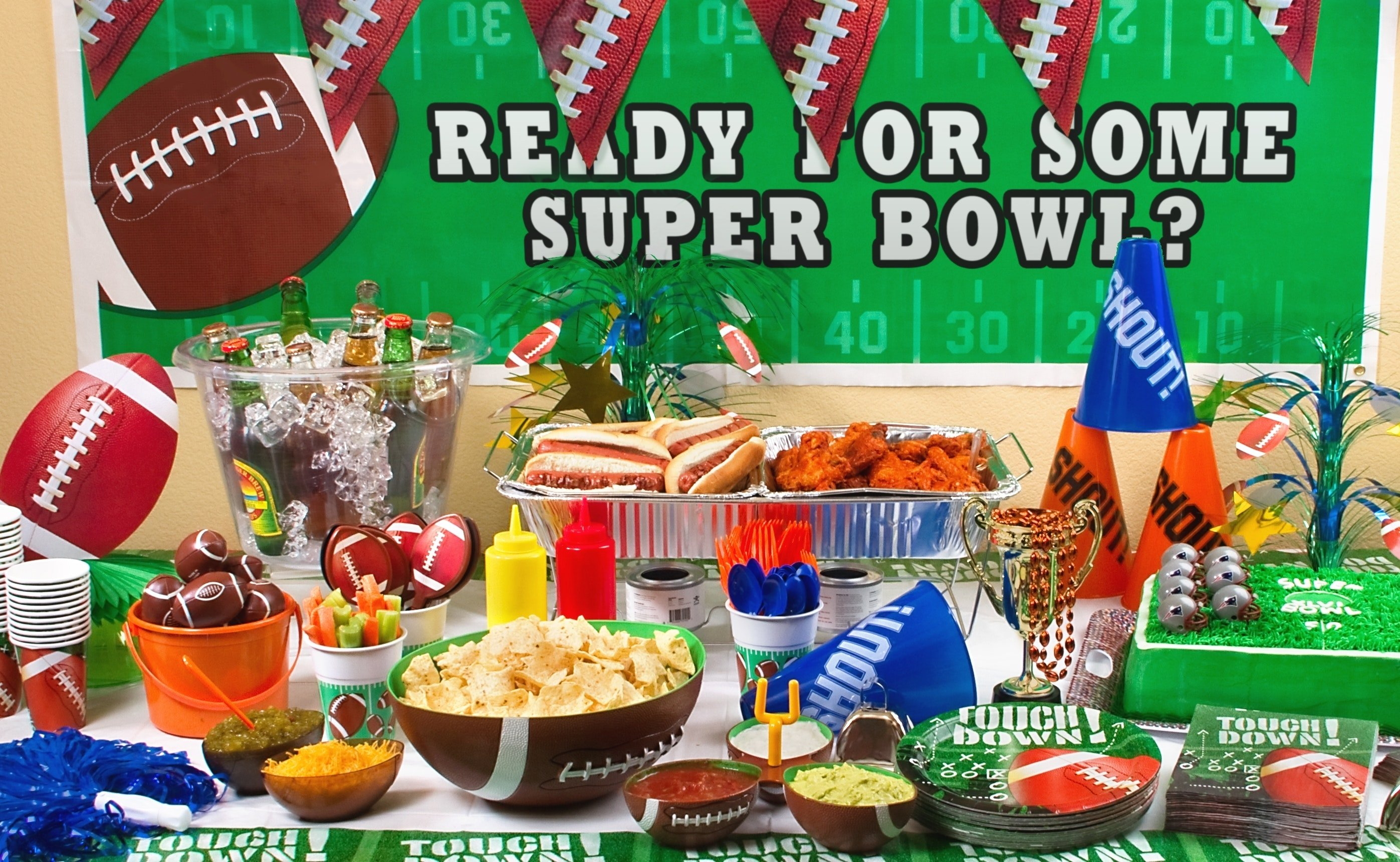 10 Amazing Super Bowl Party Decorating Ideas super bowl party decorations eye decorating ideas bowlparty abuse