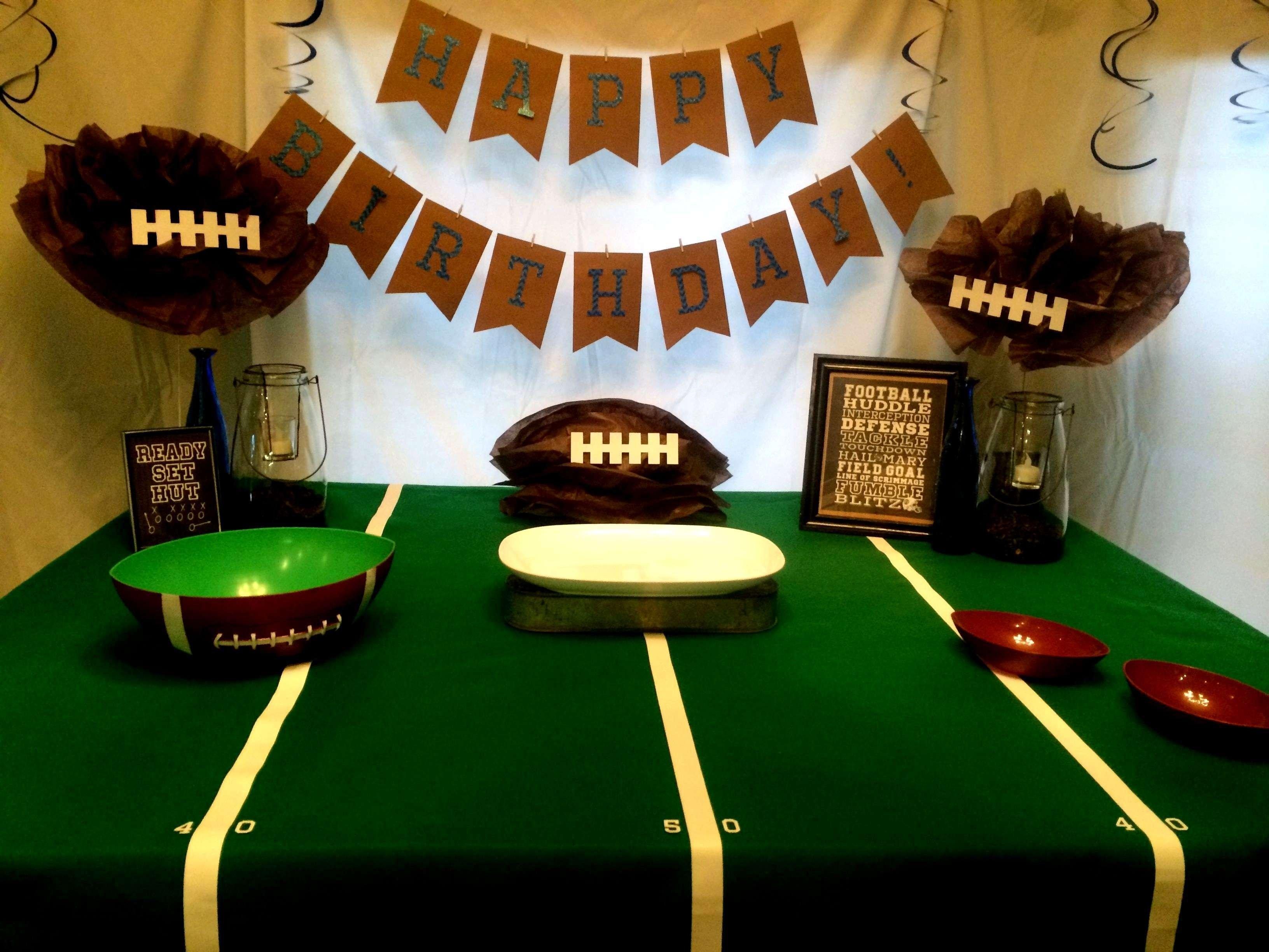 Super Bowl Party Decoration Ideas Elitflat