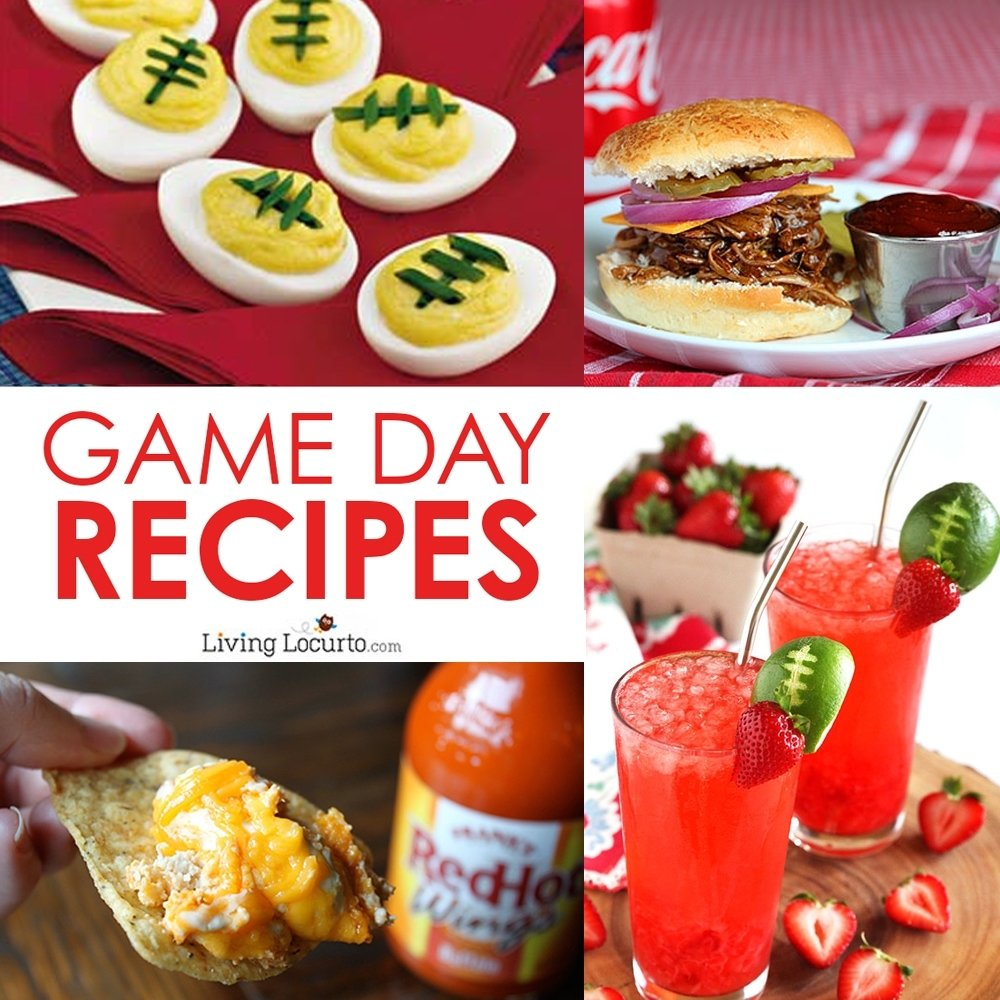 10 Pretty Super Bowl Party Snack Ideas super bowl party football recipe ideas best game day food 1