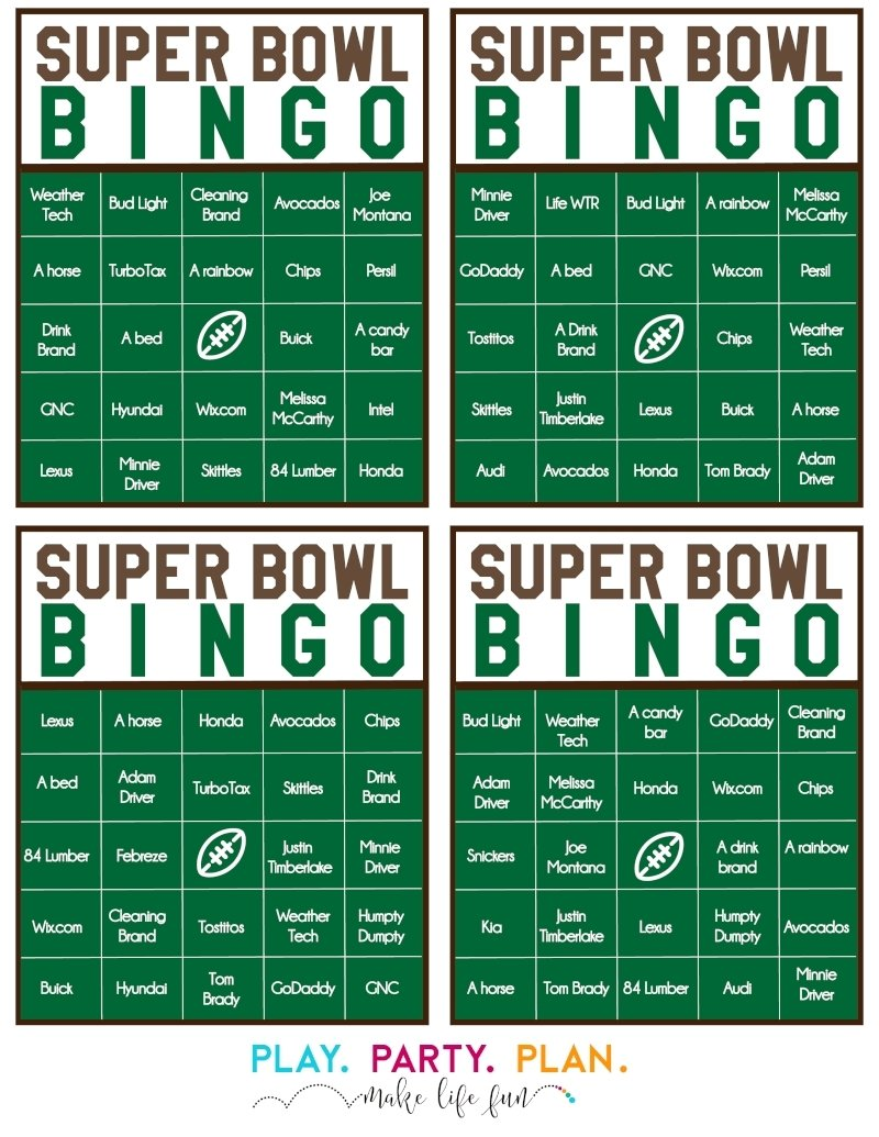 10 Perfect Super Bowl Party Games Ideas super bowl party games ideas wedding 3