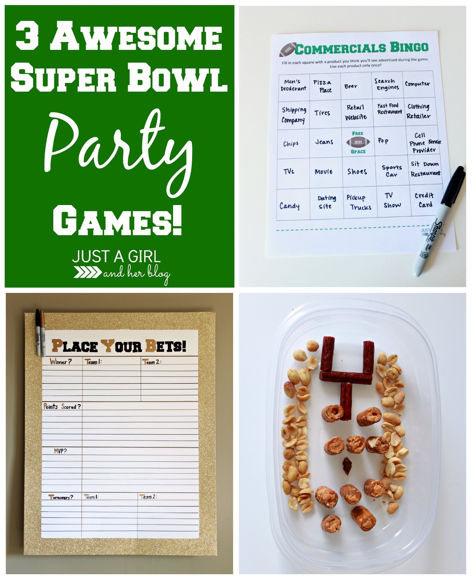 super bowl party games ideas - wedding