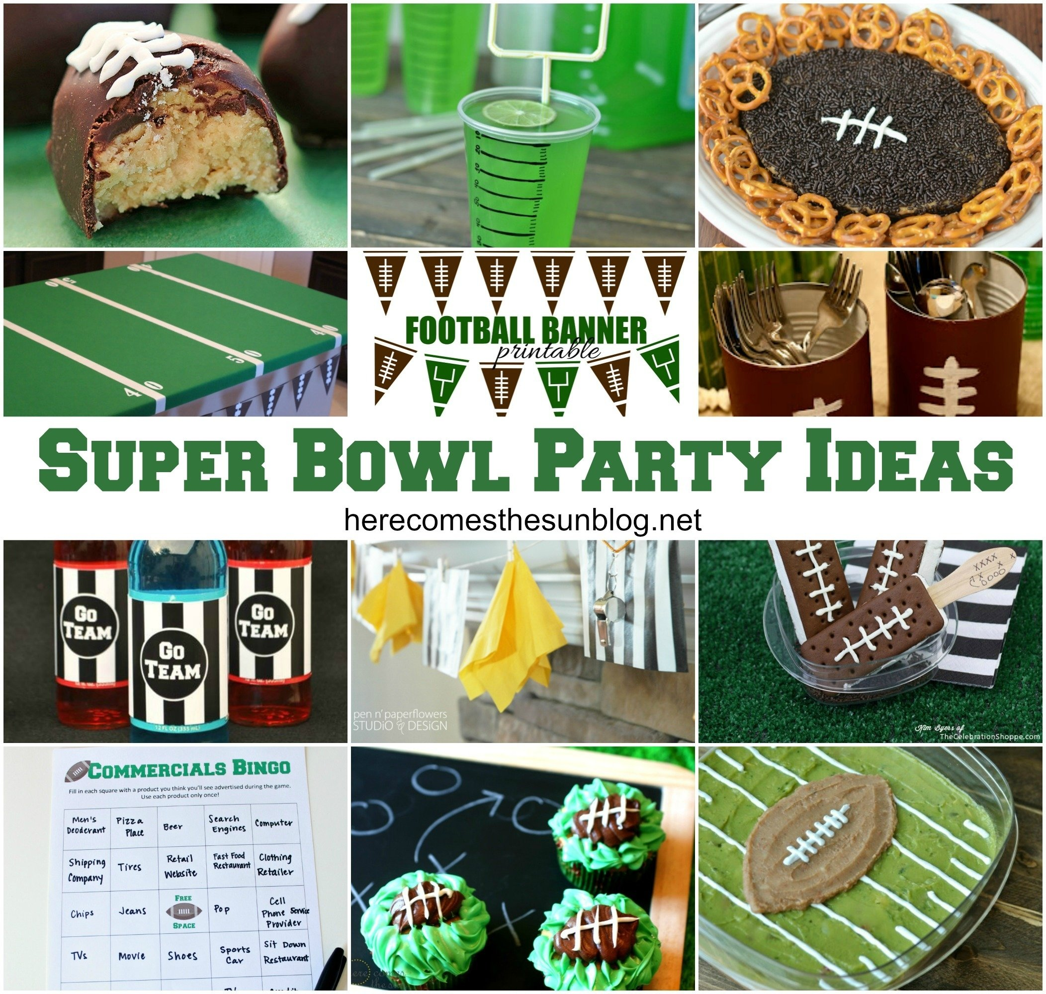 super bowl party ideas | here comes the sun