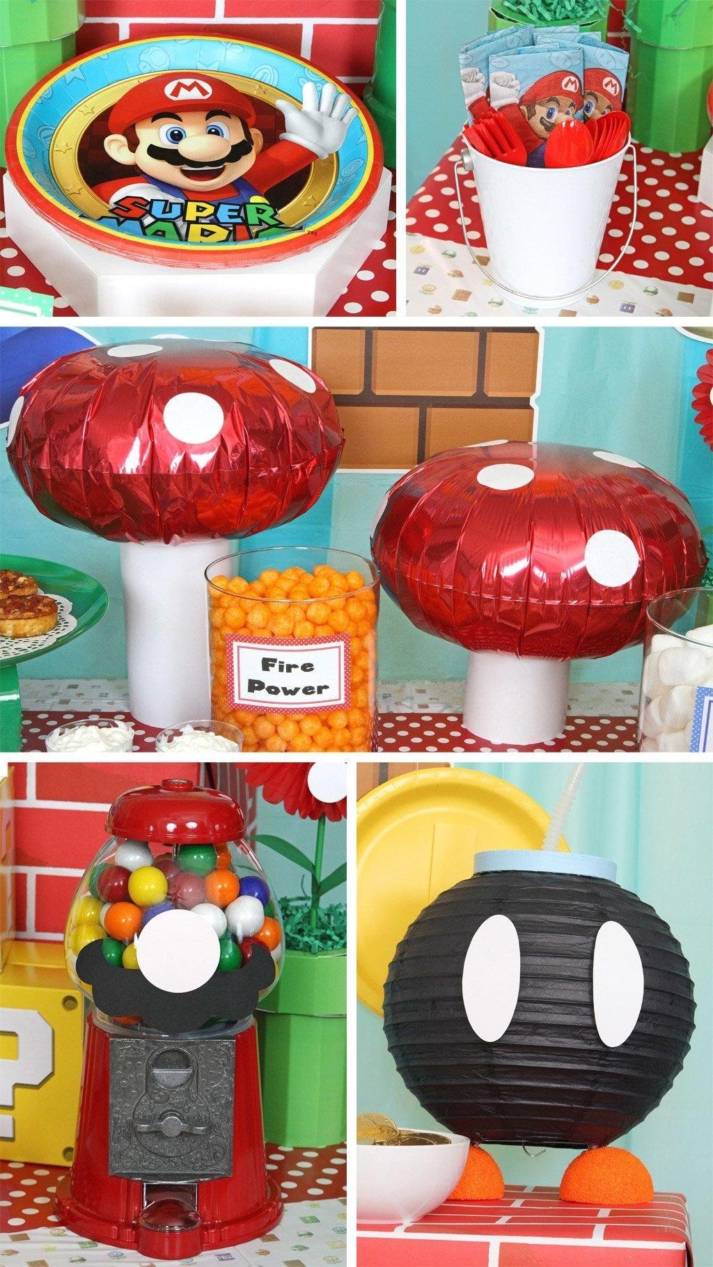 10 Famous Super Mario Bros Party Ideas super mario bros party ideas festa pinterest super mario bros 2021