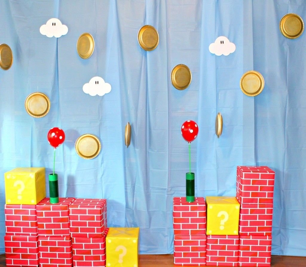 10 Lovely Super Mario Brothers Party Ideas super mario brothers party ideas games decor food tutorials 2020
