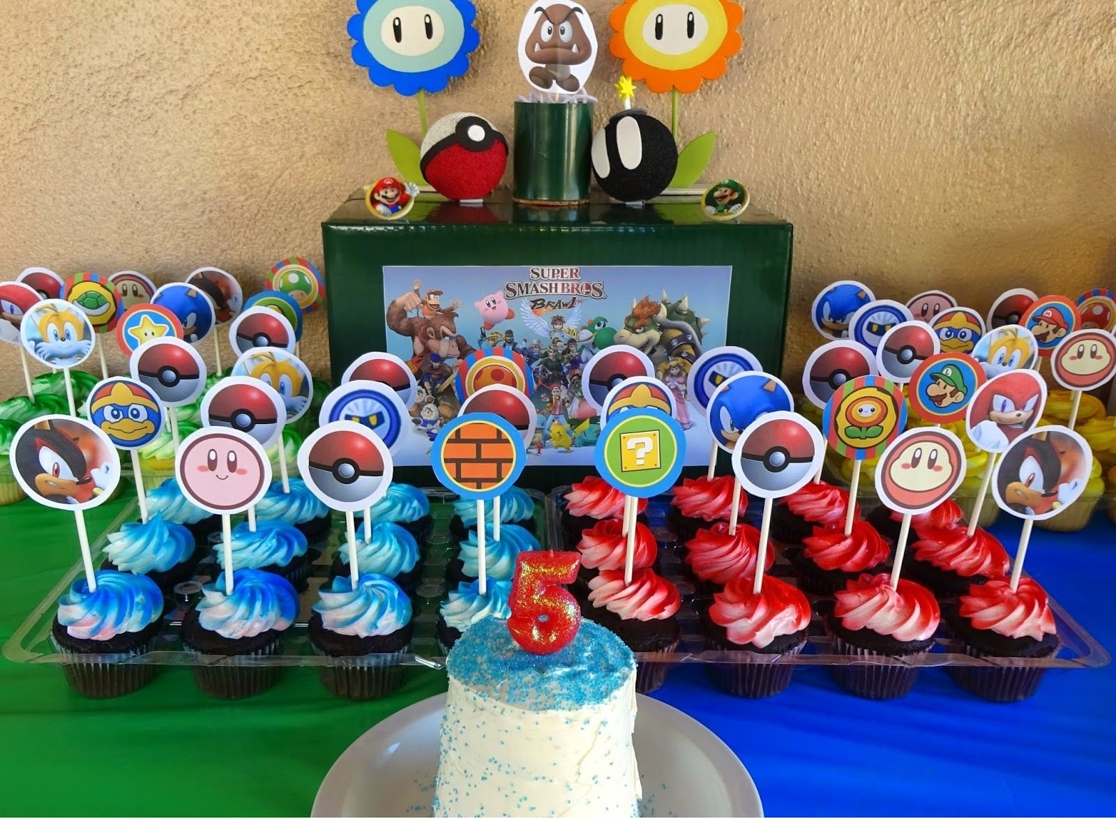 10 Fabulous Super Mario Brothers Birthday Party Ideas super smash bros birthday party my creations pinterest super 2020