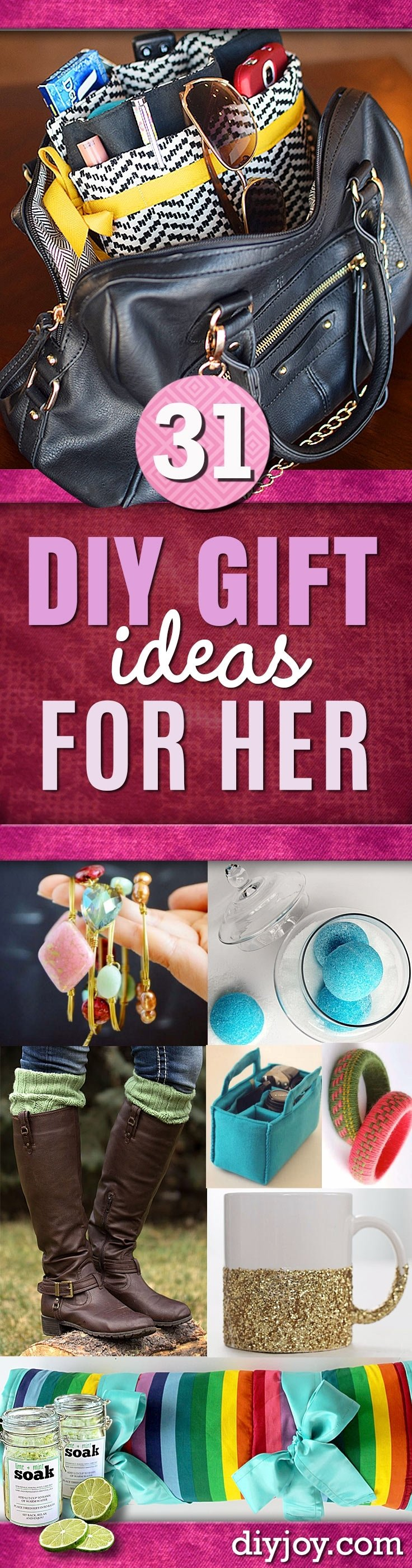 10 Best Homemade Christmas Gift Ideas For Girlfriend super special diy gift ideas for her 2020
