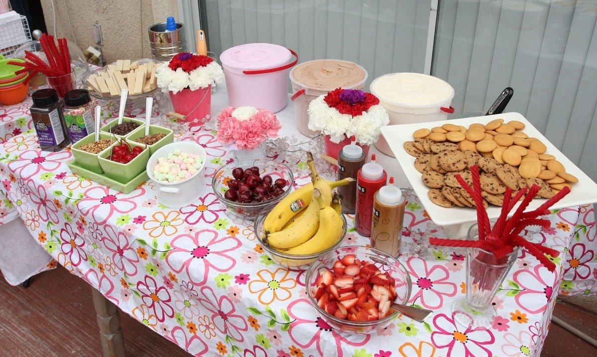 10 Beautiful Ice Cream Sundae Bar Ideas super summer sunday sundae social birthday party rustic red fence 1 2020