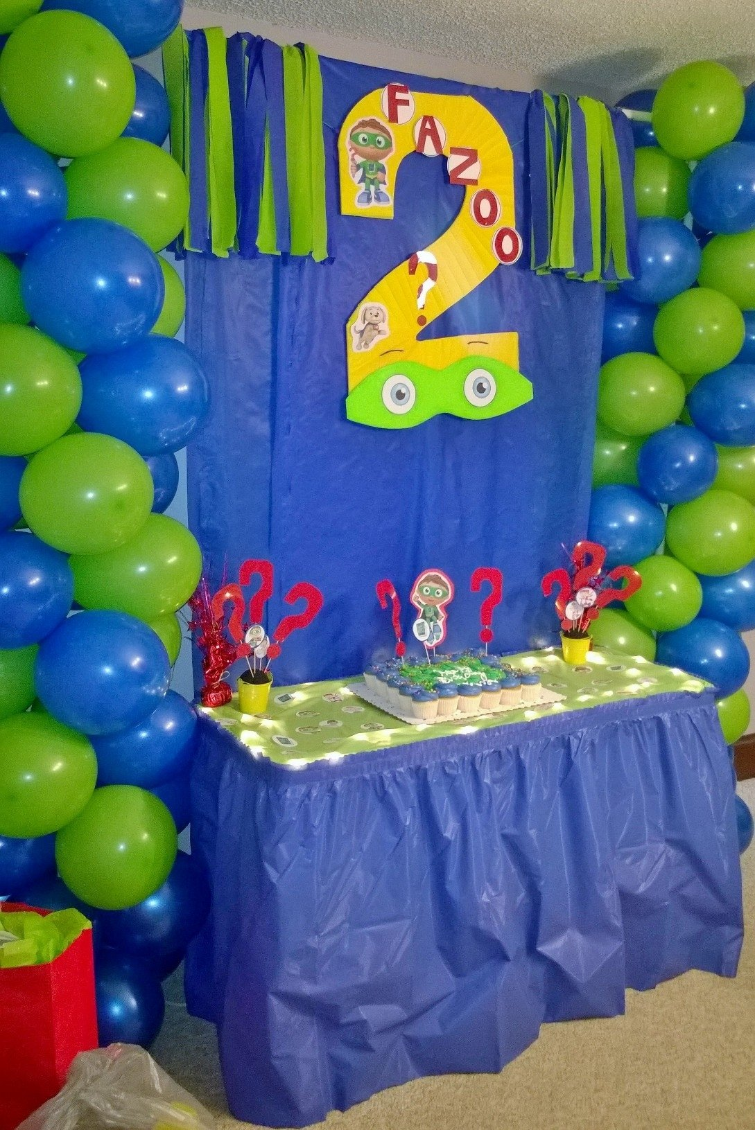 super why! cake table decor | super why! | pinterest | cake table