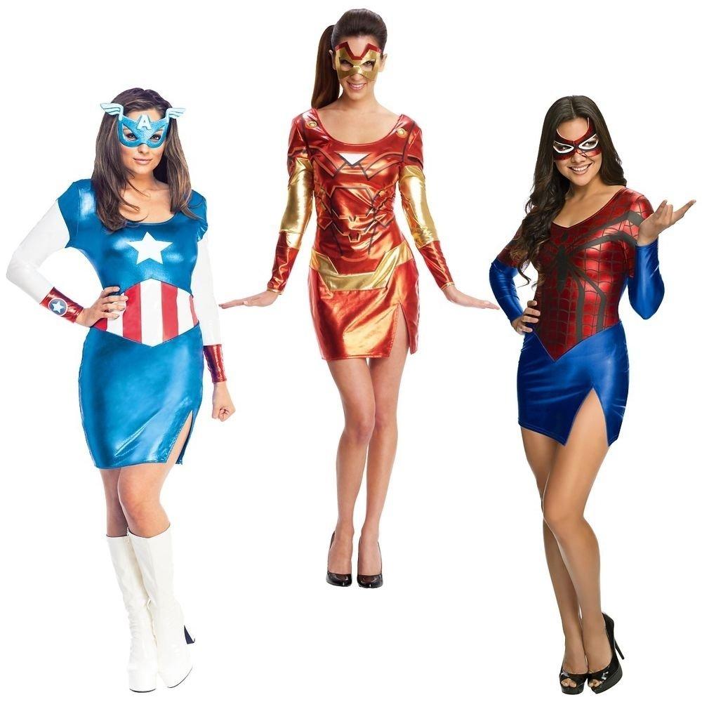 10 Stylish Superhero Costume Ideas For Women superhero costumes adult female group halloween ideas fancy dress ebay 2020