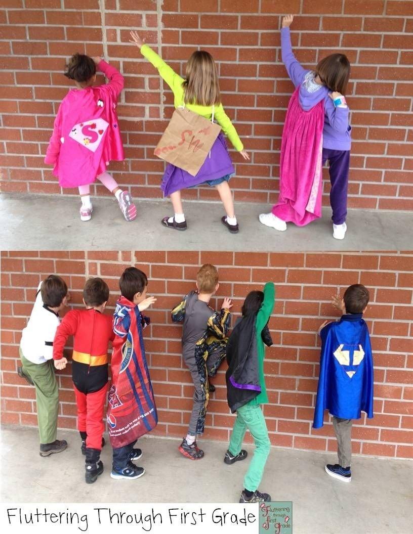 10 Cute Superhero Day Ideas At School superhero spirit day spirit days pinterest superhero school 2021