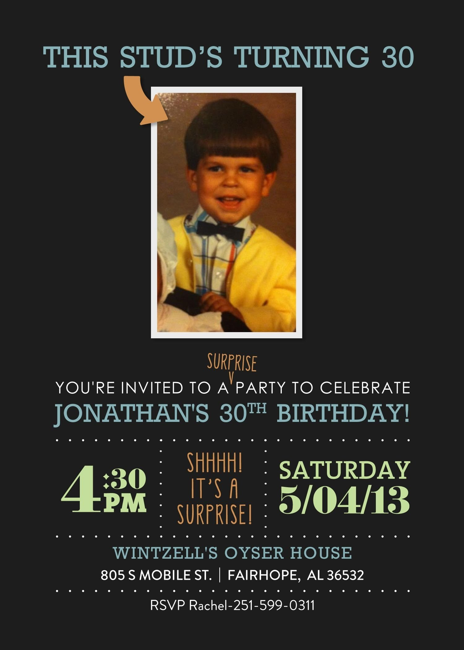 surprise 30th birthday #surprise #30 #invitation #etsy omg! now that