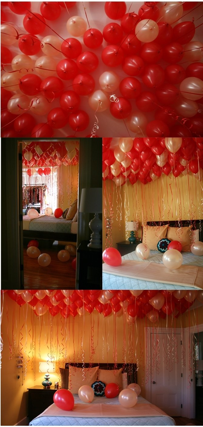 10 Unique Romantic Birthday Ideas For Husband Surprise Balloons Fill A Whole Room Any Celebration
