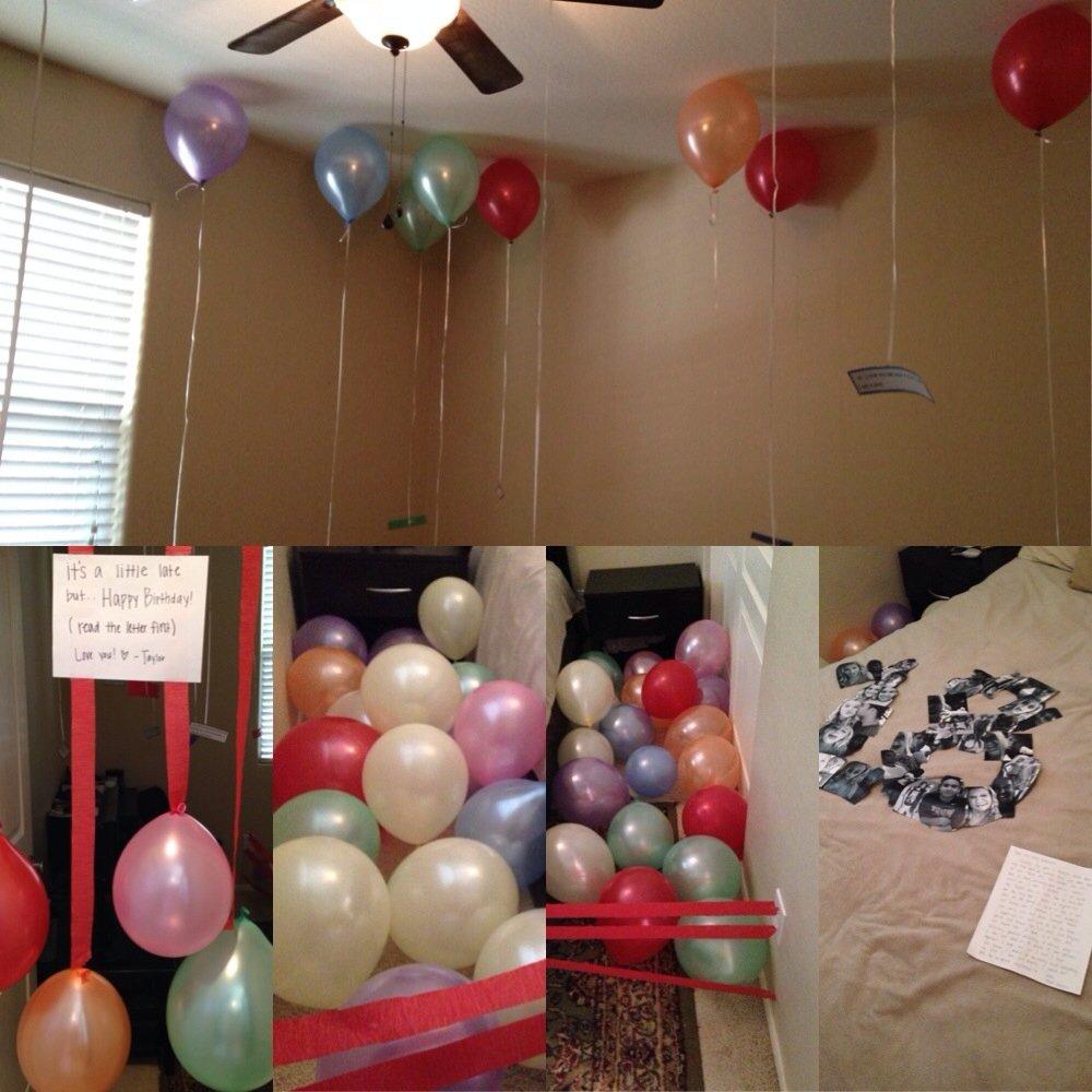 10 Cute 18Th Birthday Ideas For Boyfriend surprise for my boyfriend on his 18th birthday birthday 2020