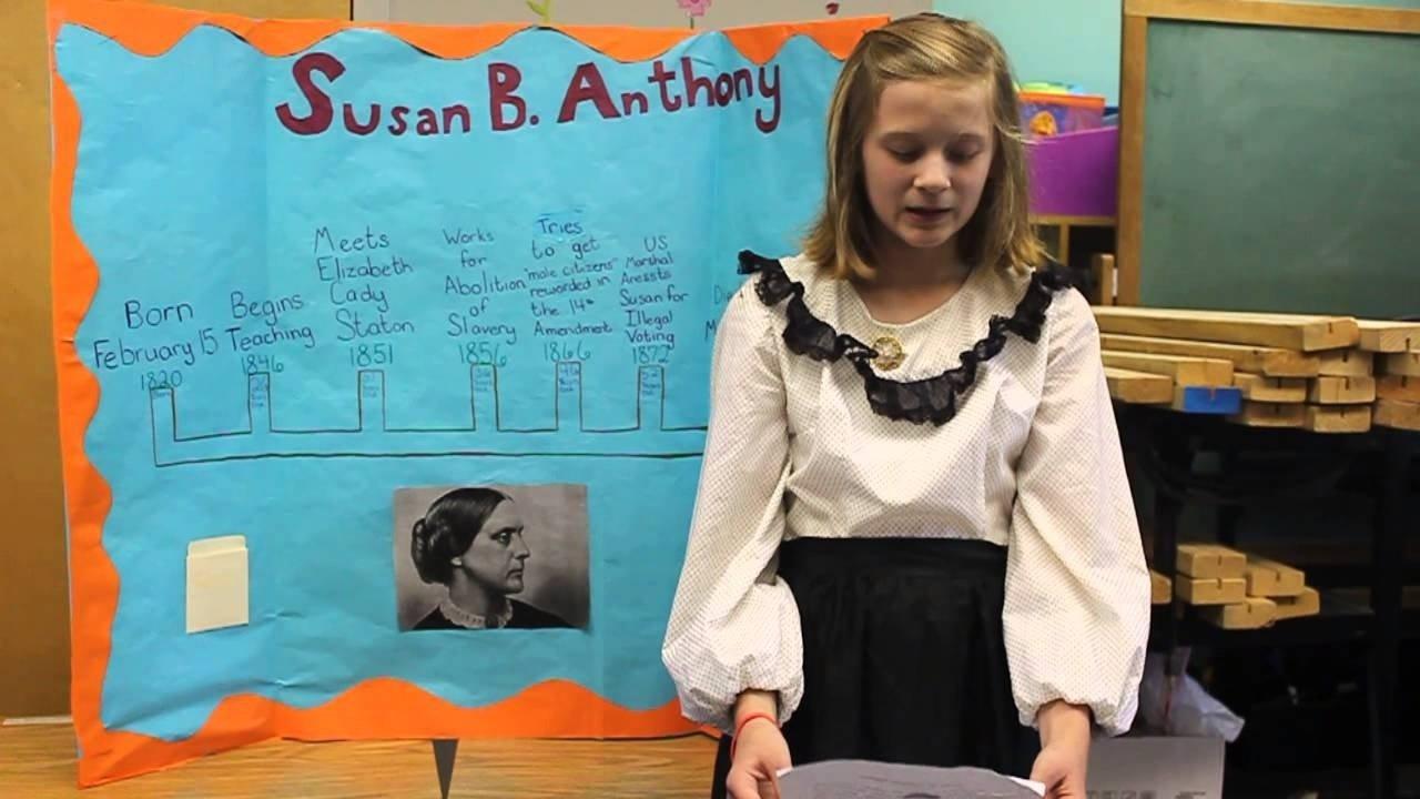 10 Great Susan B Anthony Costume Ideas susan b anthonya 5th grader youtube 2020