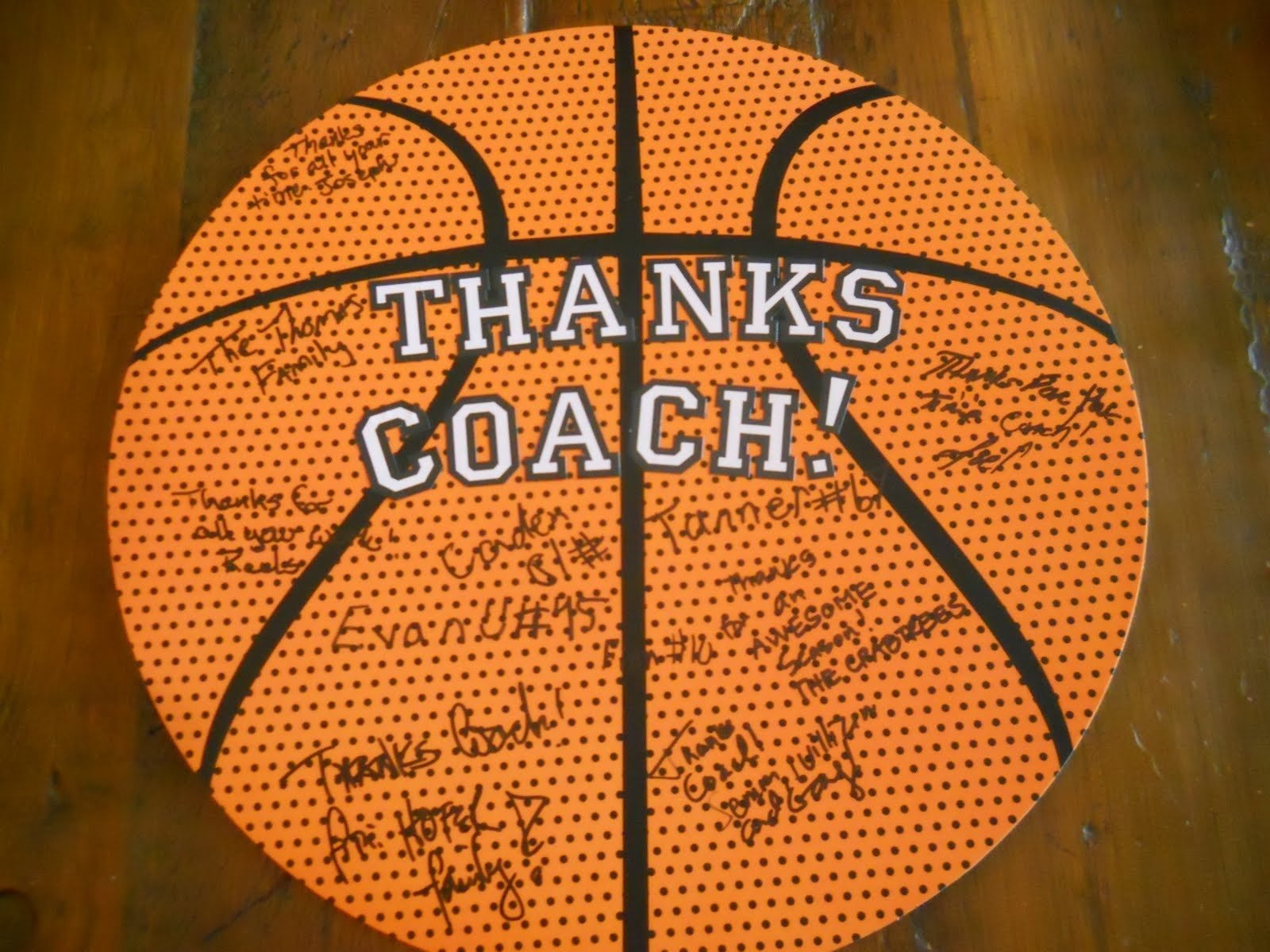 10 attractive gift ideas for basketball coach