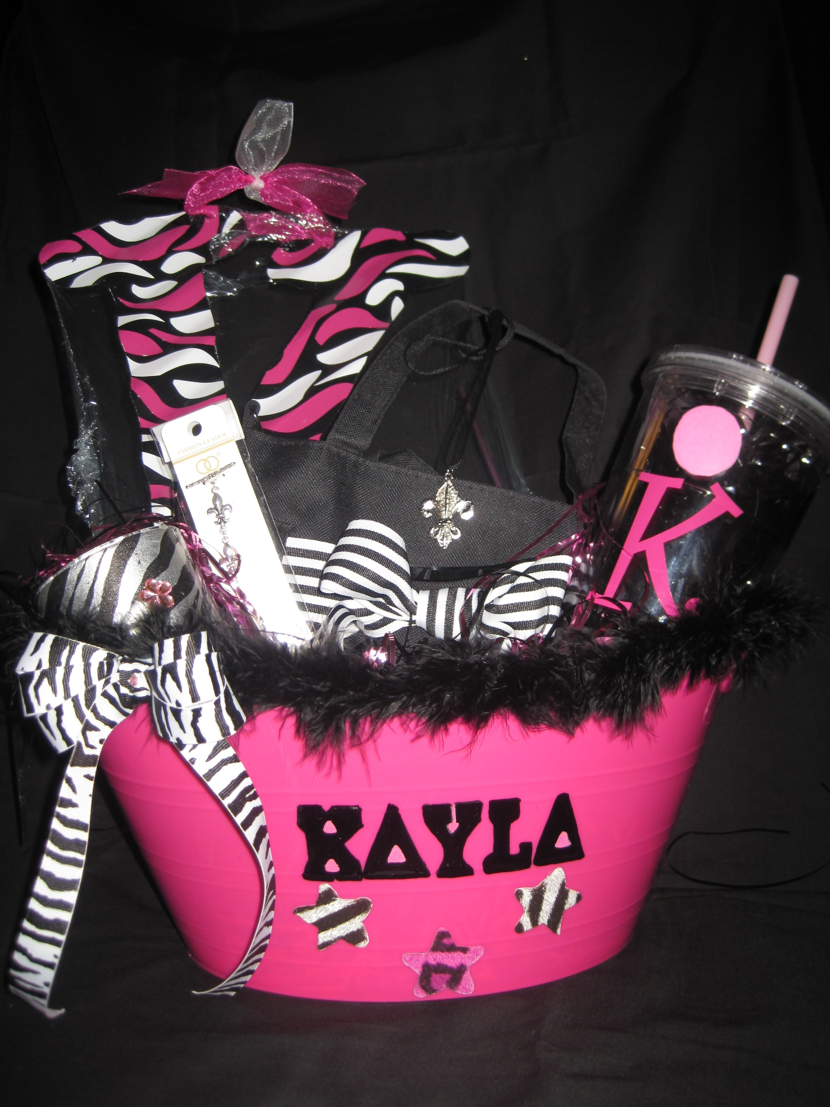 10 Stylish 18Th Birthday Present Ideas For Girls sweet 16 birthday basket gift idea for your friends gifts 4