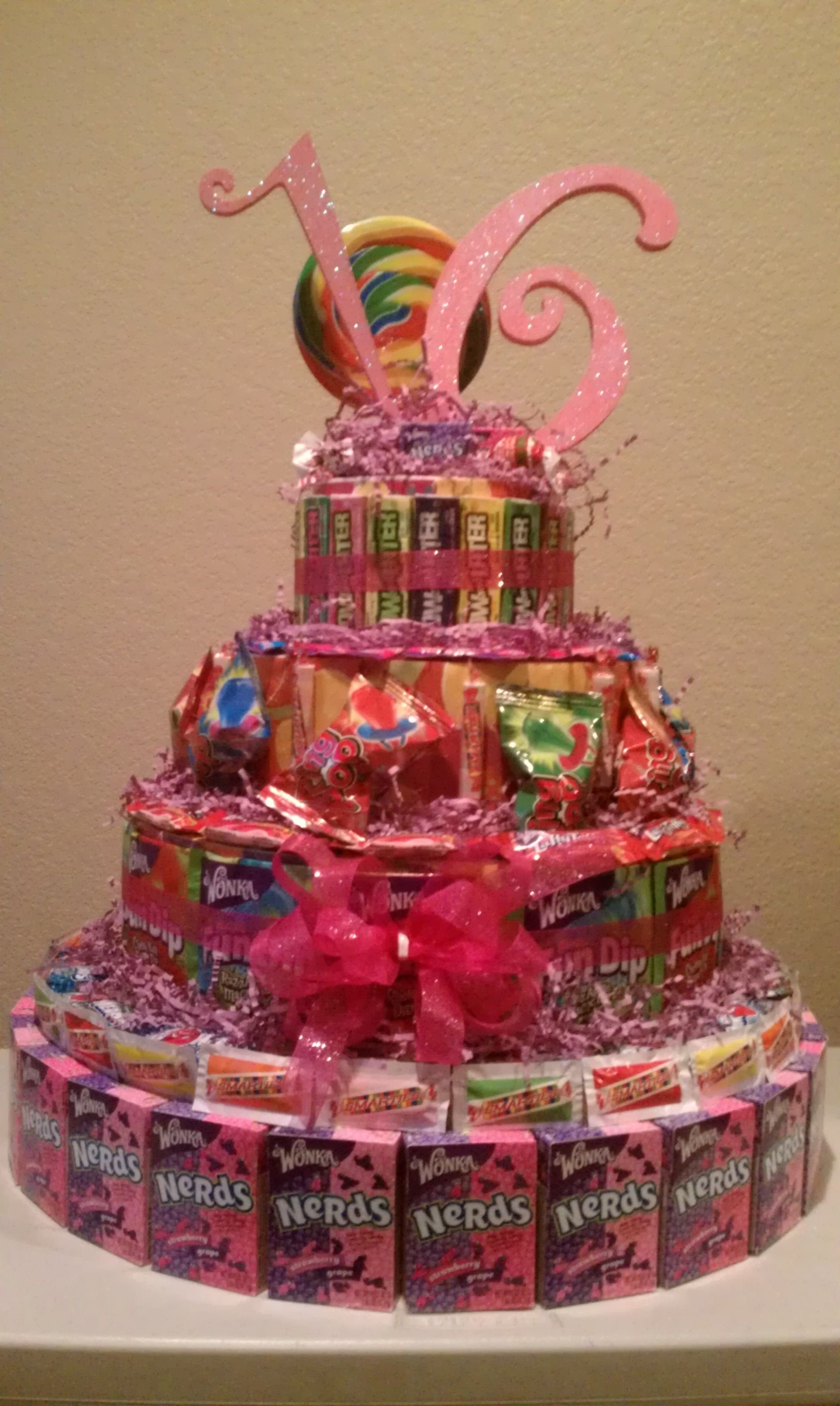 10 Stylish Sweet 16 Gift Ideas For Niece sweet 16 candy cake cool idea stacey party ideas pinterest 2