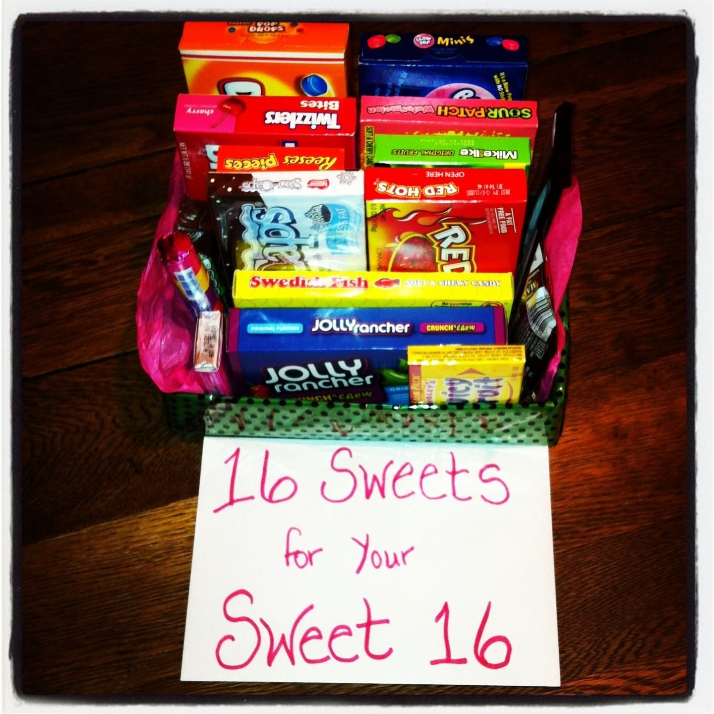 10 Pretty Sweet 16 Birthday Gift Ideas sweet 16 gift pinteres 4