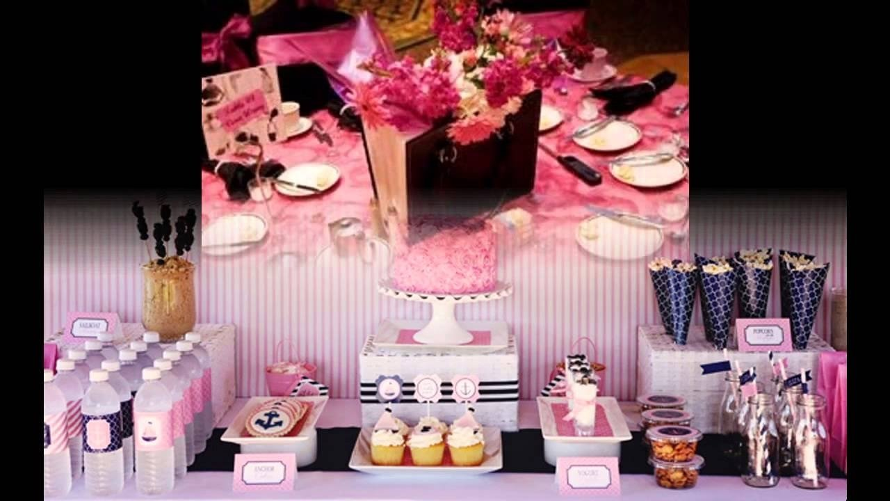 10 Fantastic Sweet 16 Ideas For Girls sweet 16 party decorations ideas for girls youtube 6 2020