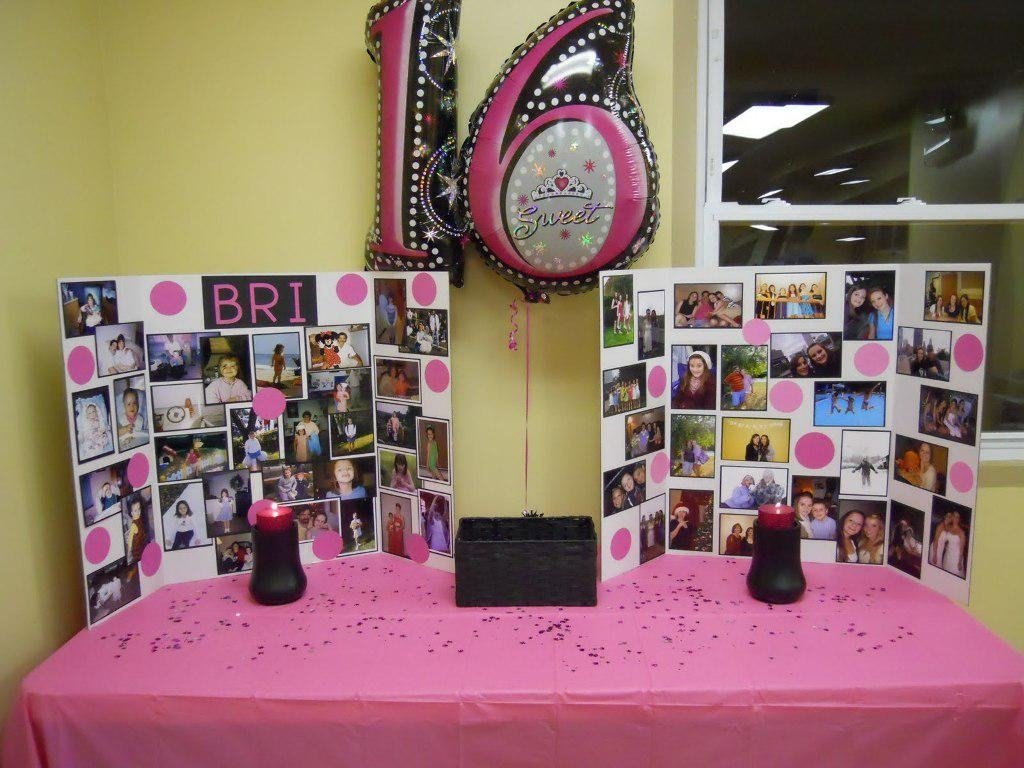 10 Most Recommended 16 Birthday Party Ideas For Girls sweet 16 party ideas on a budget for winter in dark girls th 2021
