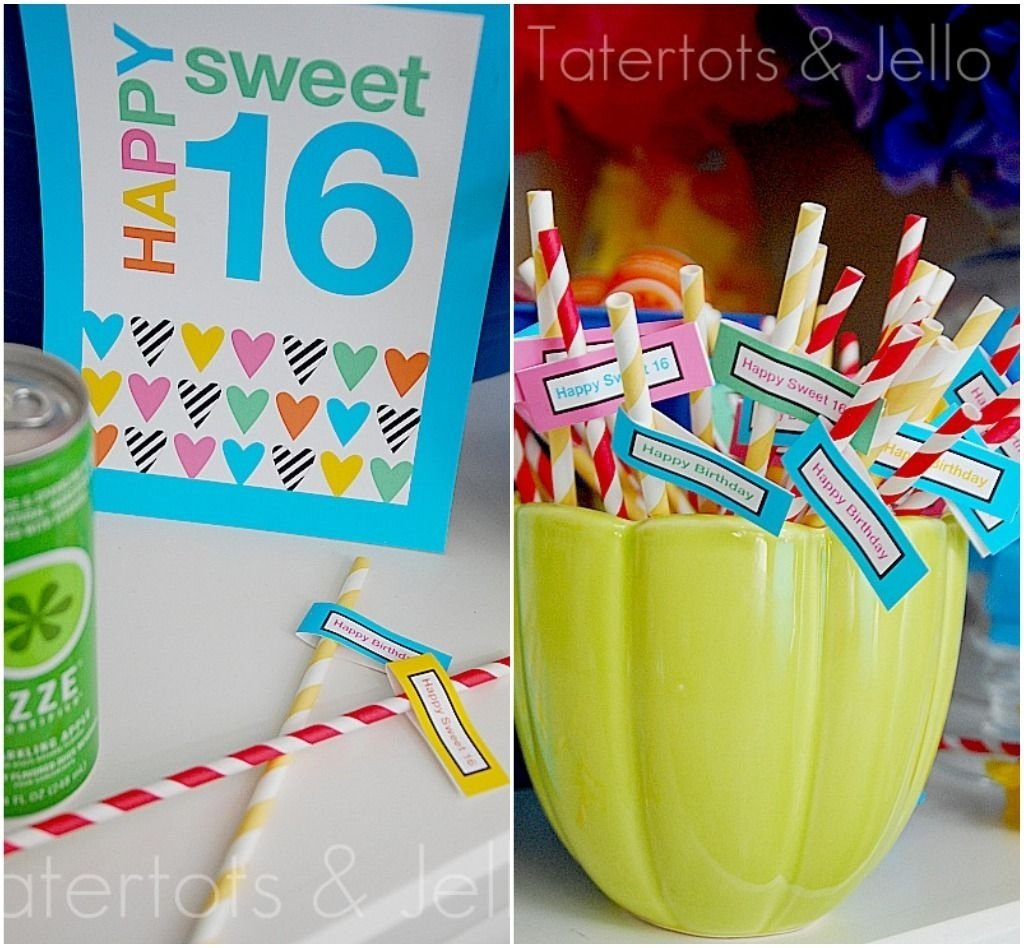 10 Pretty Sweet 16 Birthday Gift Ideas sweet 16 party plus make a photo booth and a paper lantern 1