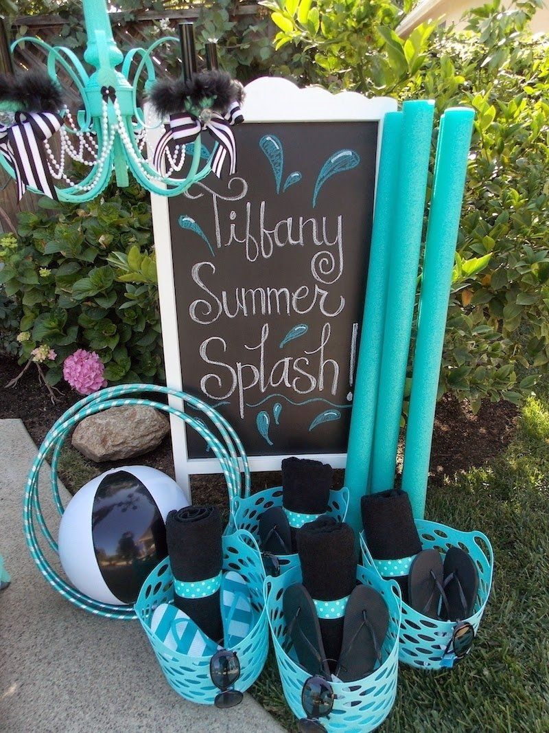 10 Wonderful Sweet 16 Pool Party Ideas sweet 16 party theme for summer sweet sixteen pool party ideas 2020