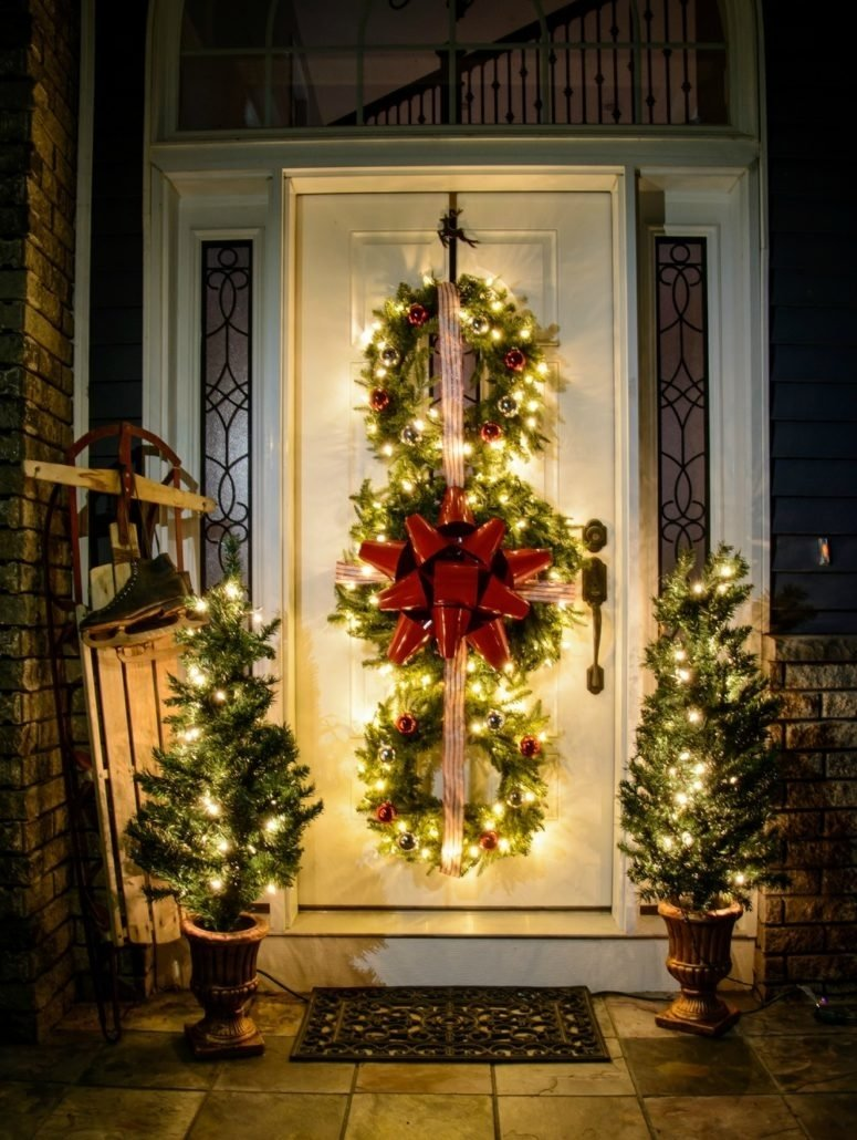 10 Unique Outdoor Christmas Decorating Ideas Pictures Sweet Design Outdoor  Christmas Decor 34 Decorations Ideas For