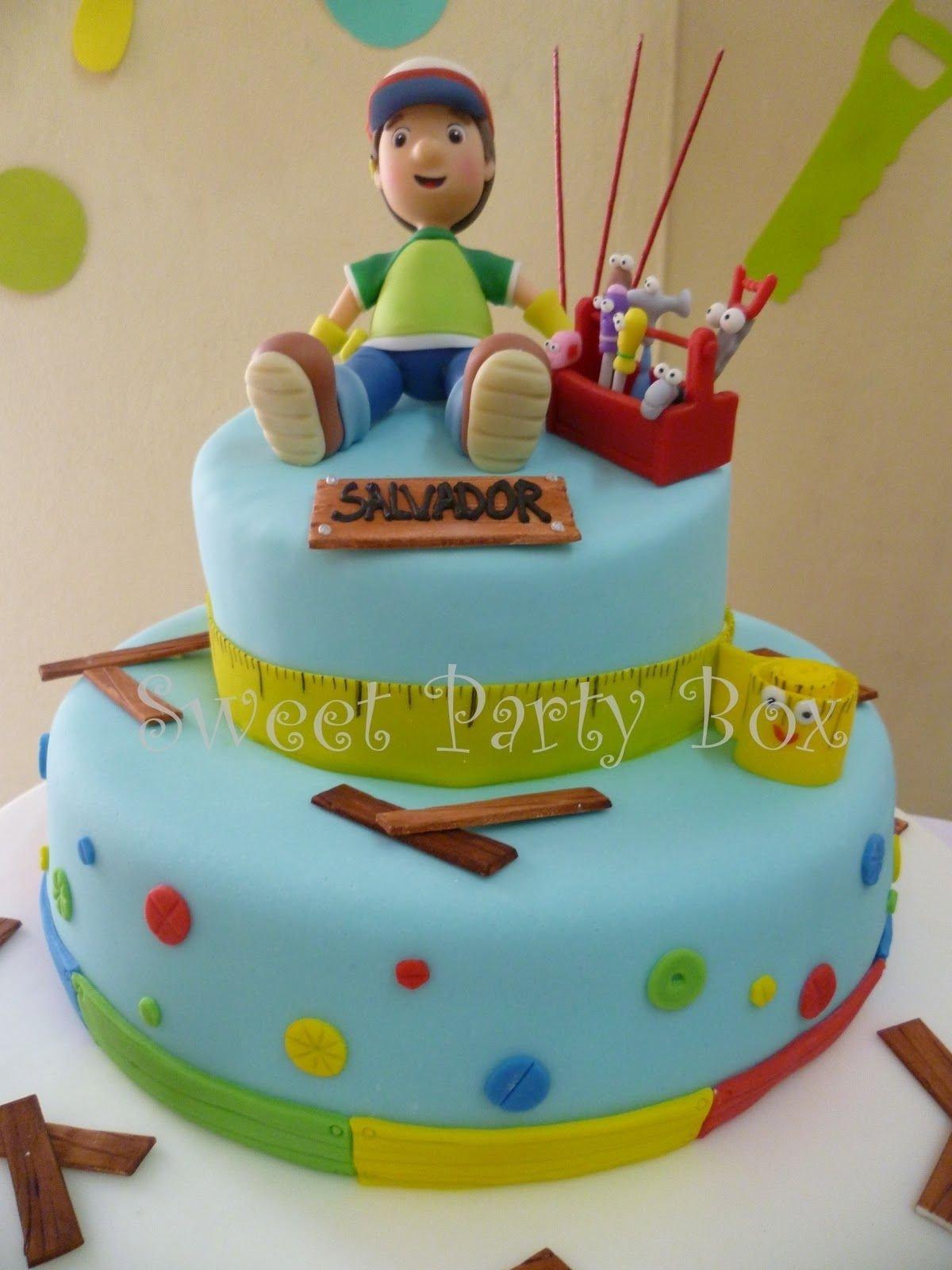10 Amazing Handy Manny Birthday Party Ideas sweet party box cumple de salvador manny a la obra handy manny 2020