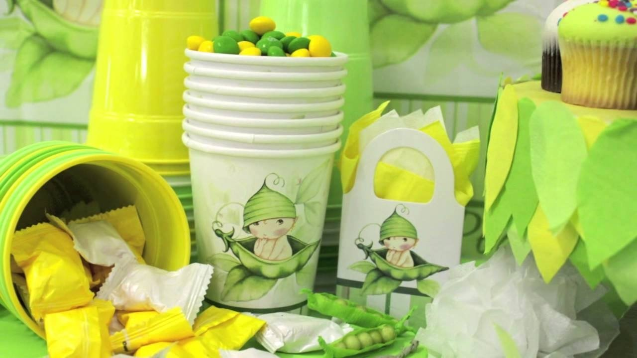 10 Most Recommended Two Peas In A Pod Baby Shower Ideas sweet pea baby shower party supplies youtube 2020
