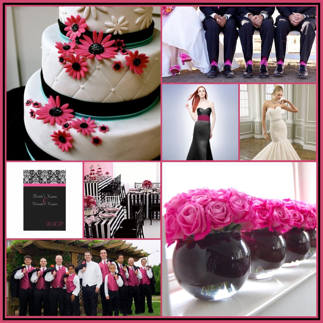 10 Beautiful Pink And Black Wedding Ideas