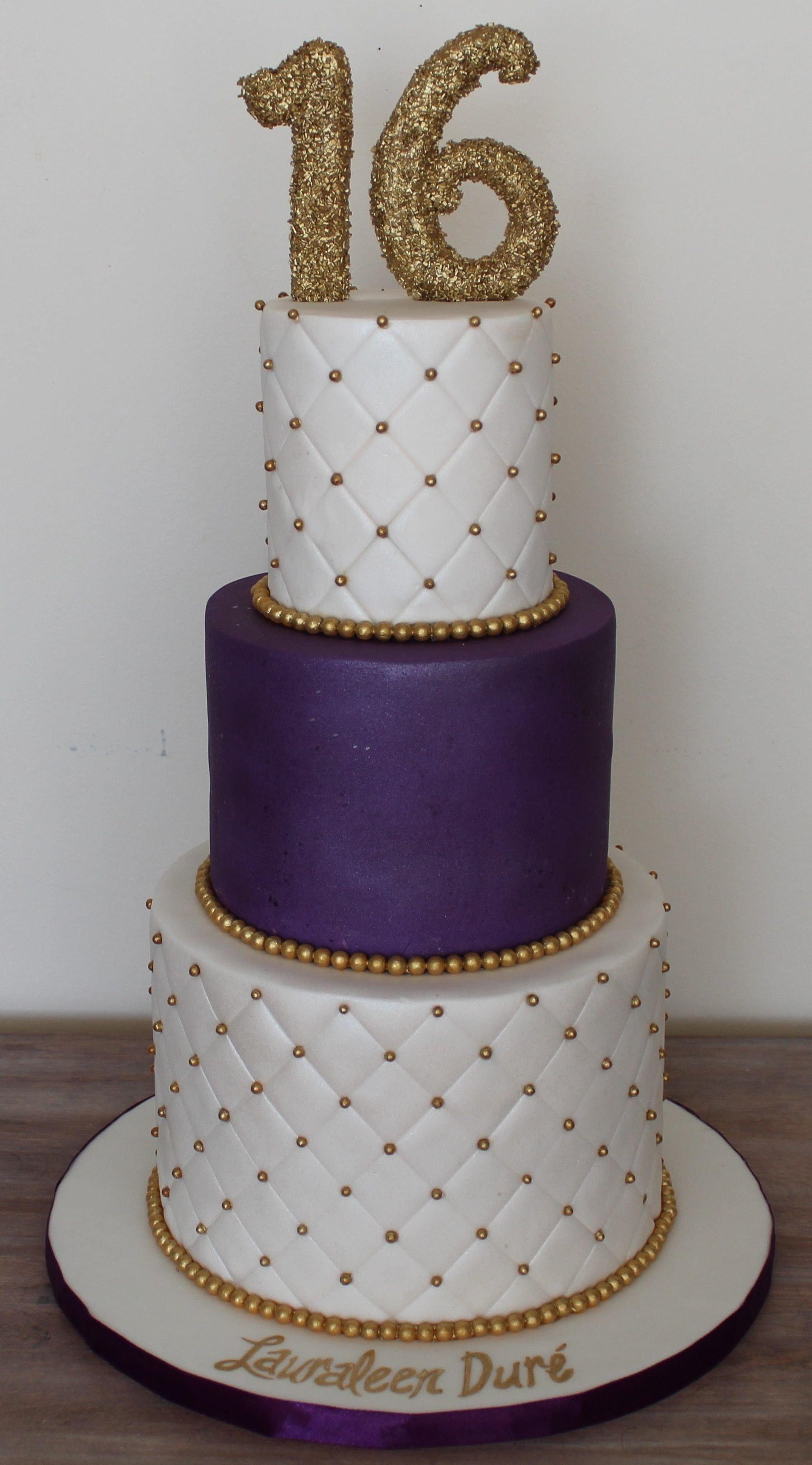 10 Stunning Sweet 16 Birthday Cake Ideas