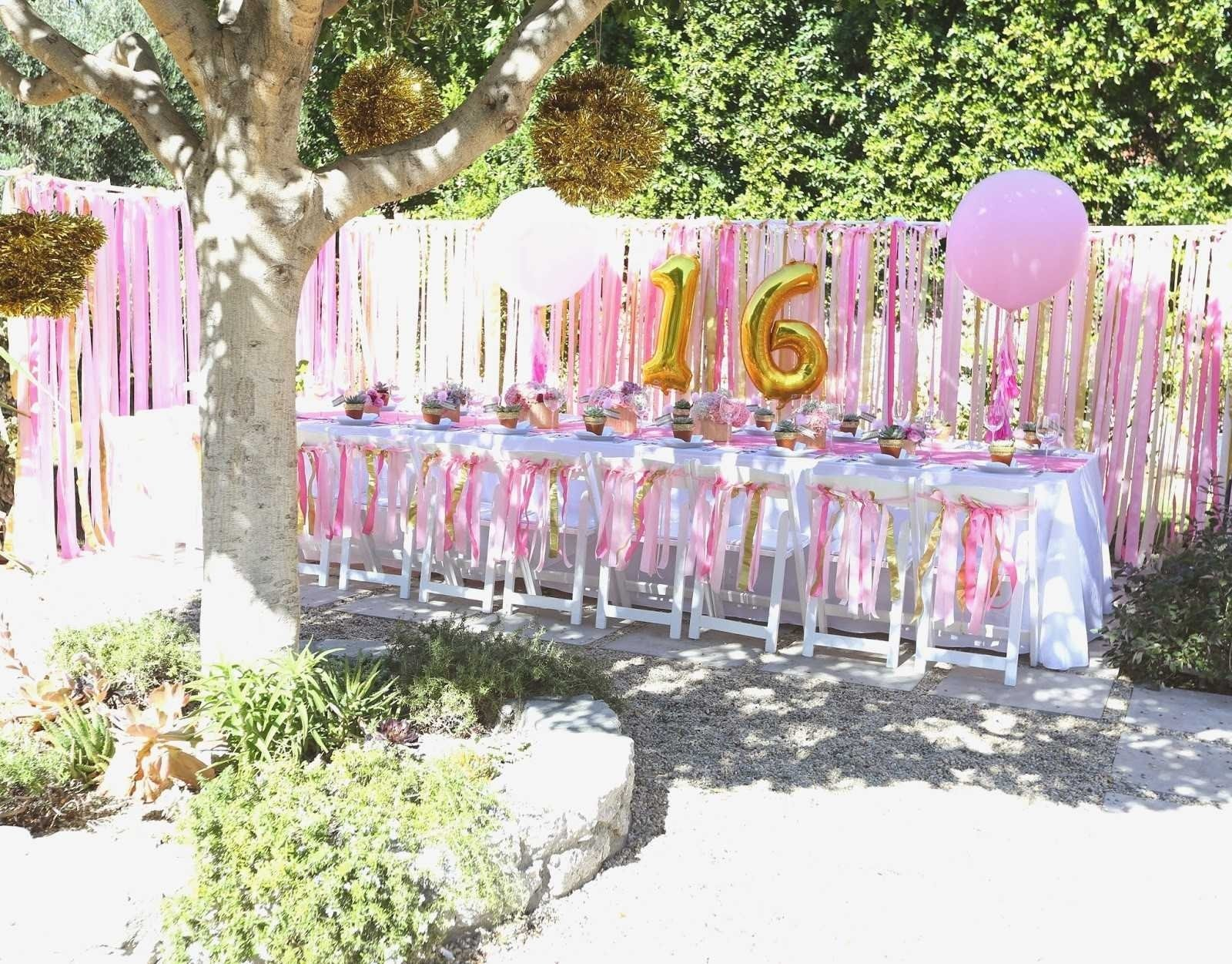 10 Cute Sweet 16 Party Ideas At Home sweet sixteen backyard party ideas best of the coop sweet 16 party 1 2020