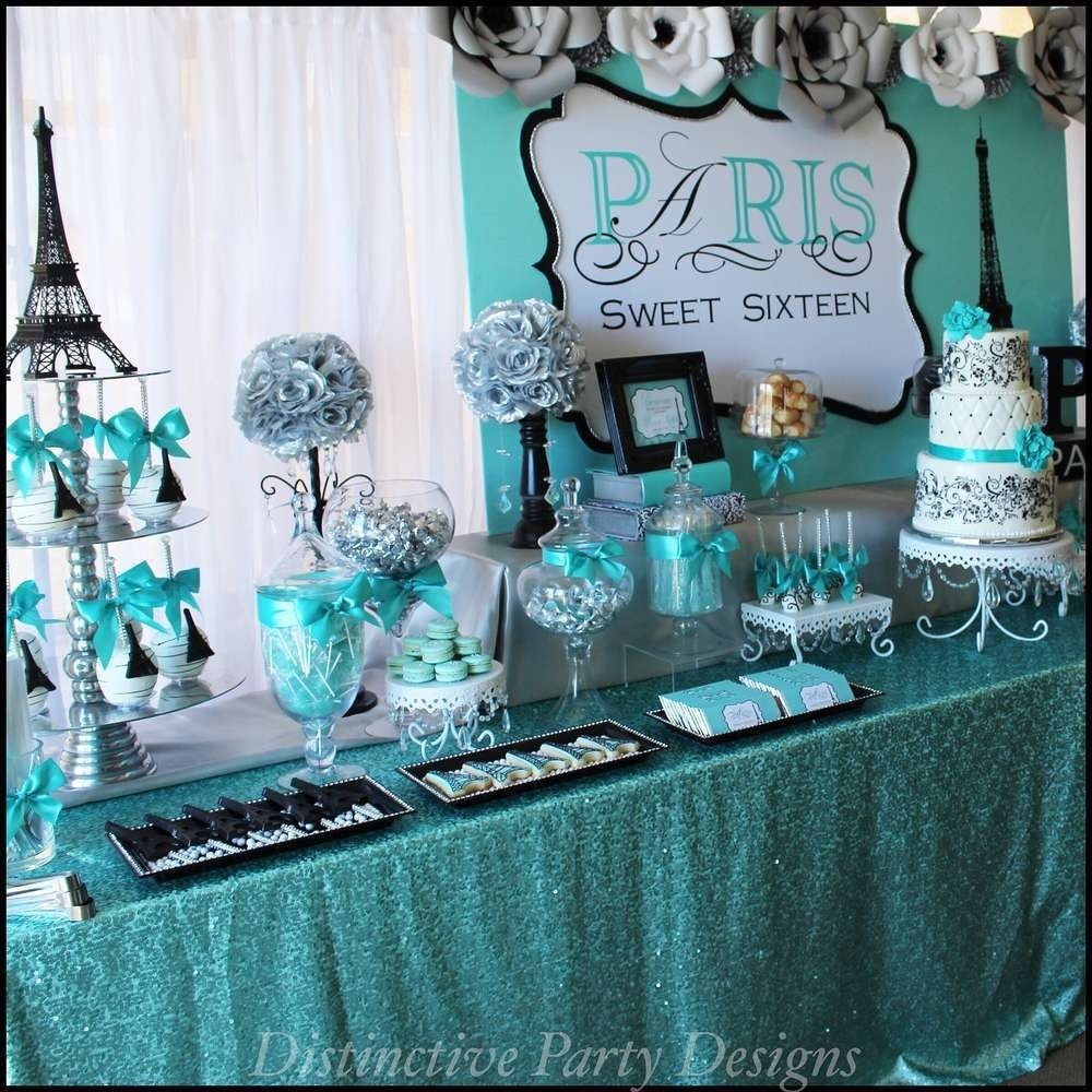 10 Fabulous Sweet Sixteen Birthday Party Ideas sweet sixteen paris style birthday birthday party ideas themes 2021