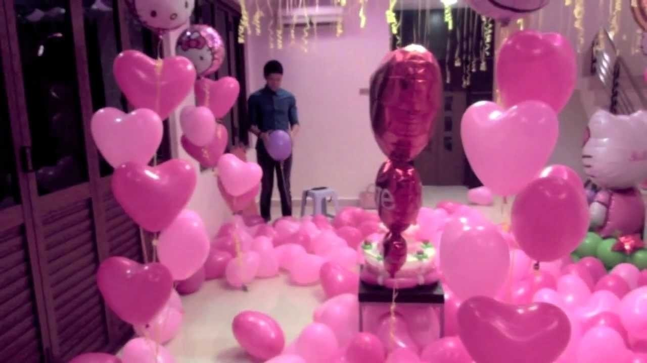 10 Fashionable Birthday Surprise Ideas For Girlfriend sweetest birthday surprise relationship proposal youtube 2021
